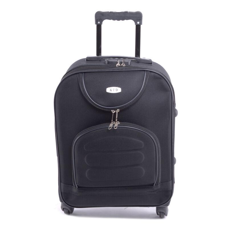 Xtd Kis Bőrőnd Fekete (4 Kerekű) - KABIN (kis) MÉRETŰ BŐRÖNDÖK - Táska  webáruház - Minőségi táskák mindenkinek 3d7510a35b