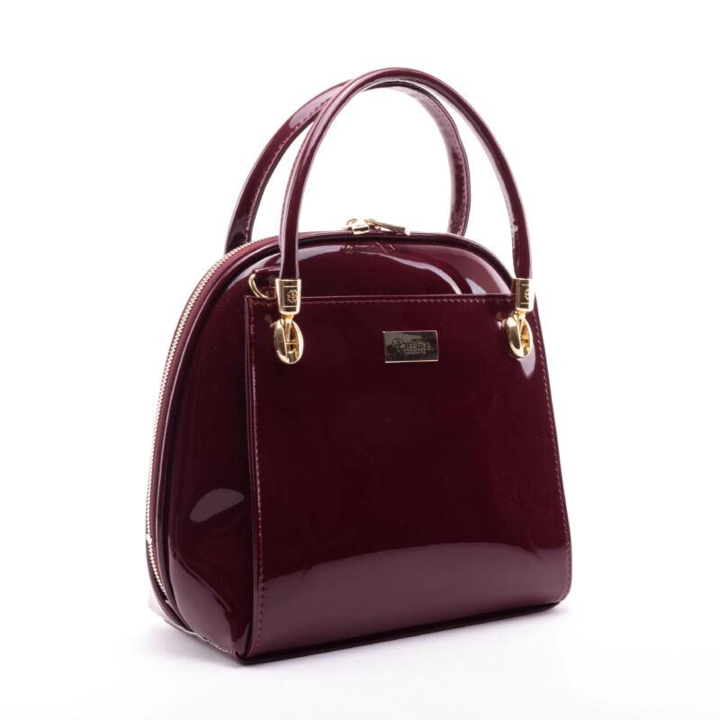 Prestige Női Lakk Kézitáska Bordó - Kézitáskák - Táska webáruház - Minőségi  táskák mindenkinek d9ea15b263