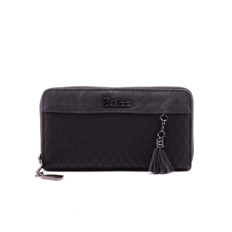 Női Fekete Műbőr Pénztárca - NŐI PÉNZTÁRCÁK - Táska webáruház - Minőségi  táskák mindenkinek 85d1bf3b8a