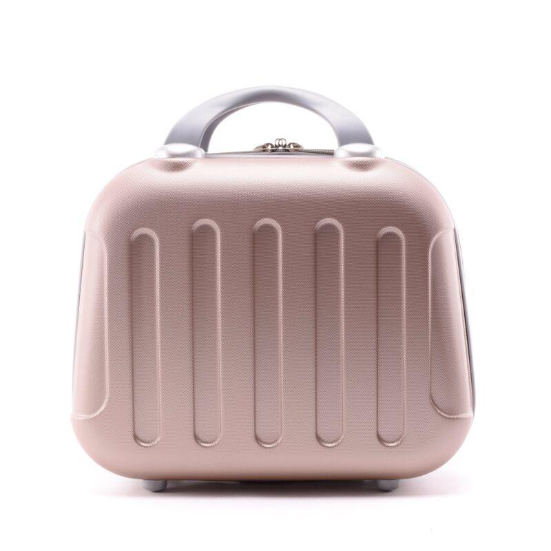 Rózsaarany Bőröndre Akasztható Táska (33 25 16 cm) - WIZZ AIR ... 4c0fca06dd