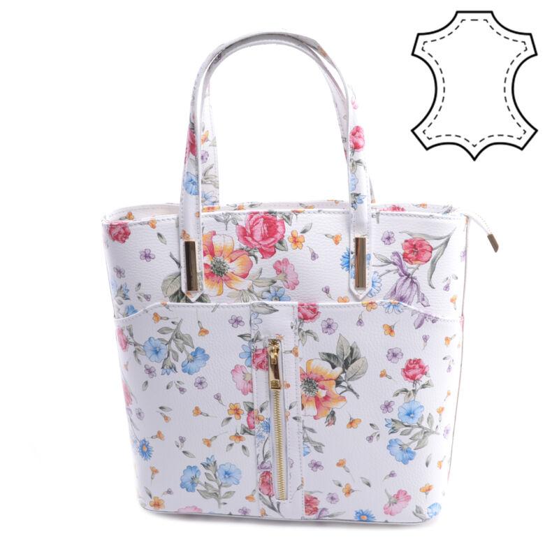 Virág Mintás Női Valódi Bőr Válltáska - Válltáskák - Táska webáruház -  Minőségi táskák mindenkinek 417485c227
