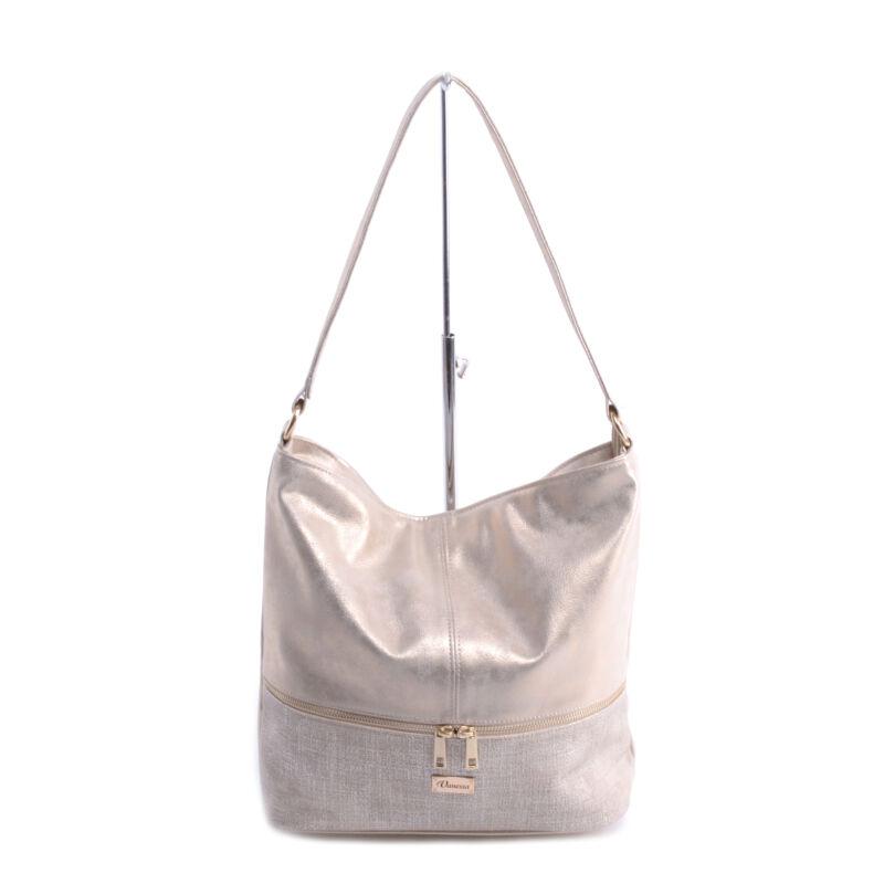6af46a0bb1 Női Műbőr Arany Oldaltáska - Válltáskák - Táska webáruház - Minőségi táskák  mindenkinek