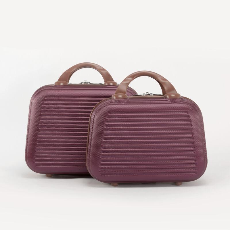 Bordó Bőröndre Akasztható Két Darabos Táska Szett - WIZZ AIR ... b9e7df15a8