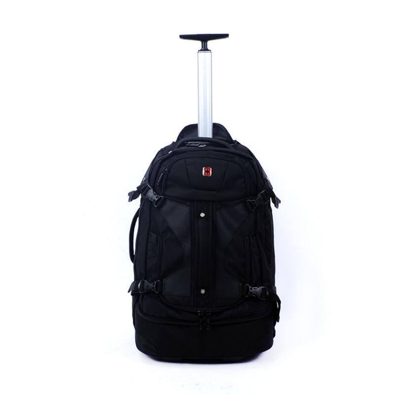 Swisswin Nagy Méretű Fekete Gurulós Utazótáska - SWISS - Táska webáruház -  Minőségi táskák mindenkinek c27924d12e