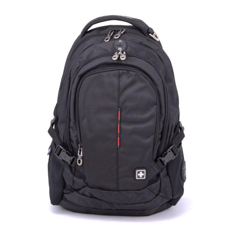 Suissewin Fekete Poliészter Hátizsák - Túra és szabadidős hátizsákok - Táska  webáruház - Minőségi táskák mindenkinek bbf1be899b