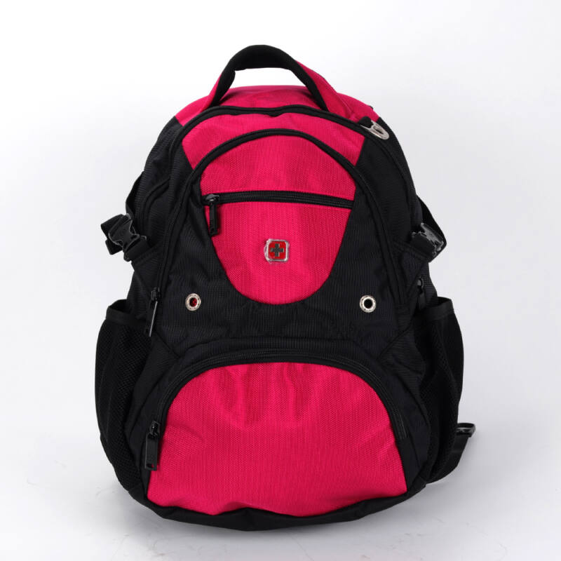 Swisswin Rózsaszín Fekete Hátizsák - SWISSWIN - Táska webáruház - Minőségi  táskák mindenkinek 1f02740fbe