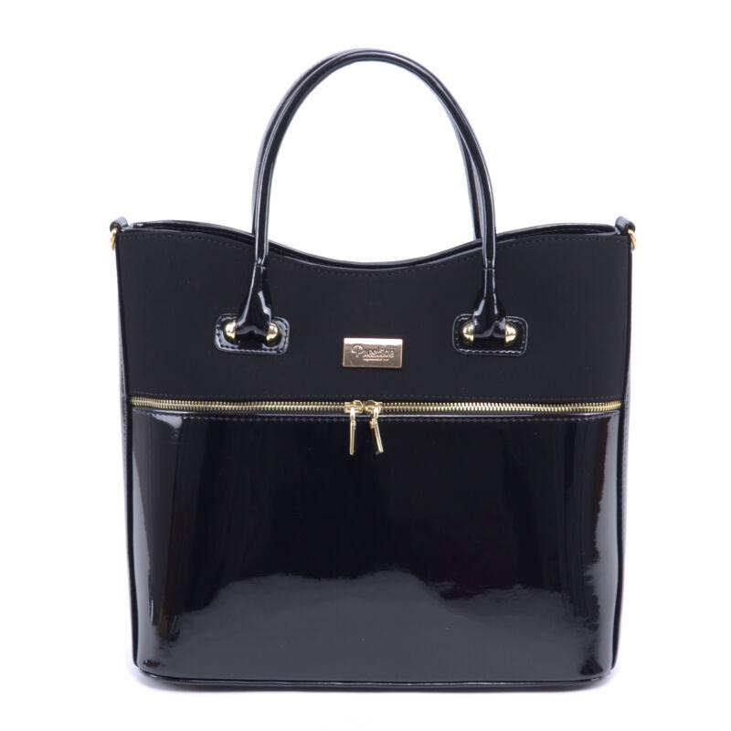 Prestige Női Műbőr-Velúr Kézitáska Fekete - Kézitáskák - Táska webáruház -  Minőségi táskák mindenkinek 6210f8c51b