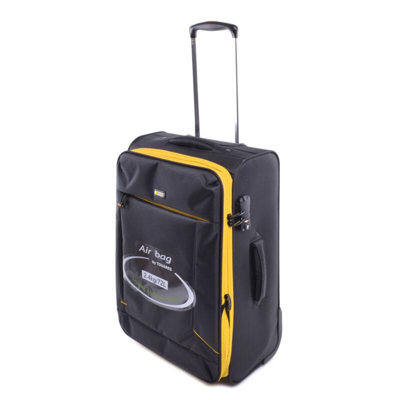 04b8f6ab71f4 Touareg Közepes Méretű Bőrönd Fekete-Sárga - KÖZEPES MÉRETŰ BŐRÖNDÖK ...