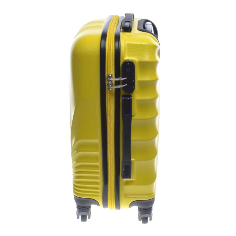 Abs-2092 Ormi Kabinbőrönd Sárga 55 40 20cm - KABIN (kis) MÉRETŰ ... a7c76bc40e