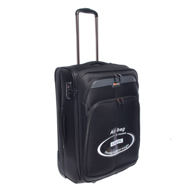 C09-255 Fekete Touareg Közepes Méretű Bőrönd - KÖZEPES MÉRETŰ ... 4115752e51