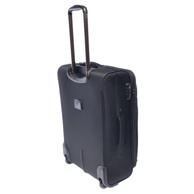 4dbed22574bb C09-255 Fekete Touareg Közepes Méretű Bőrönd - KÖZEPES MÉRETŰ ...