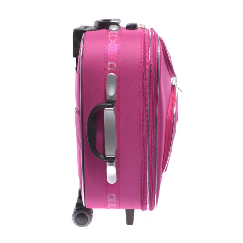 Rózsaszín Kabin Méretű Bőrönd 55 40 20cm Bd701 - KABIN (kis) MÉRETŰ ... a9f4c496f2