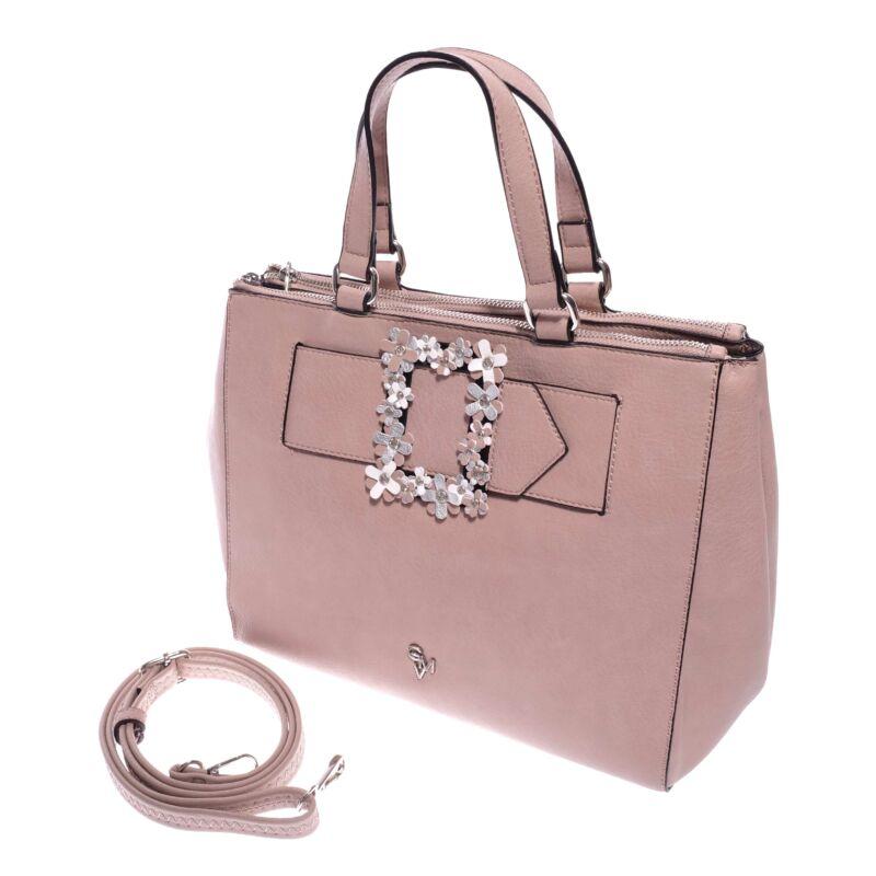 Gianmarco Venturi Világos Rózsaszín Női Rostbőr Kézitáska ... 6cb0e4665c