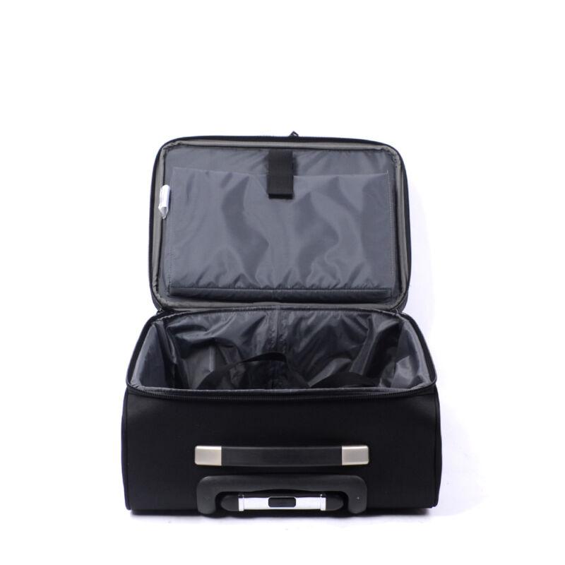 Swisswin Fekete Wizzair Méretű Kabinbőrönd (2 Kerekű) - KABIN (kis ... e33f2f7af2
