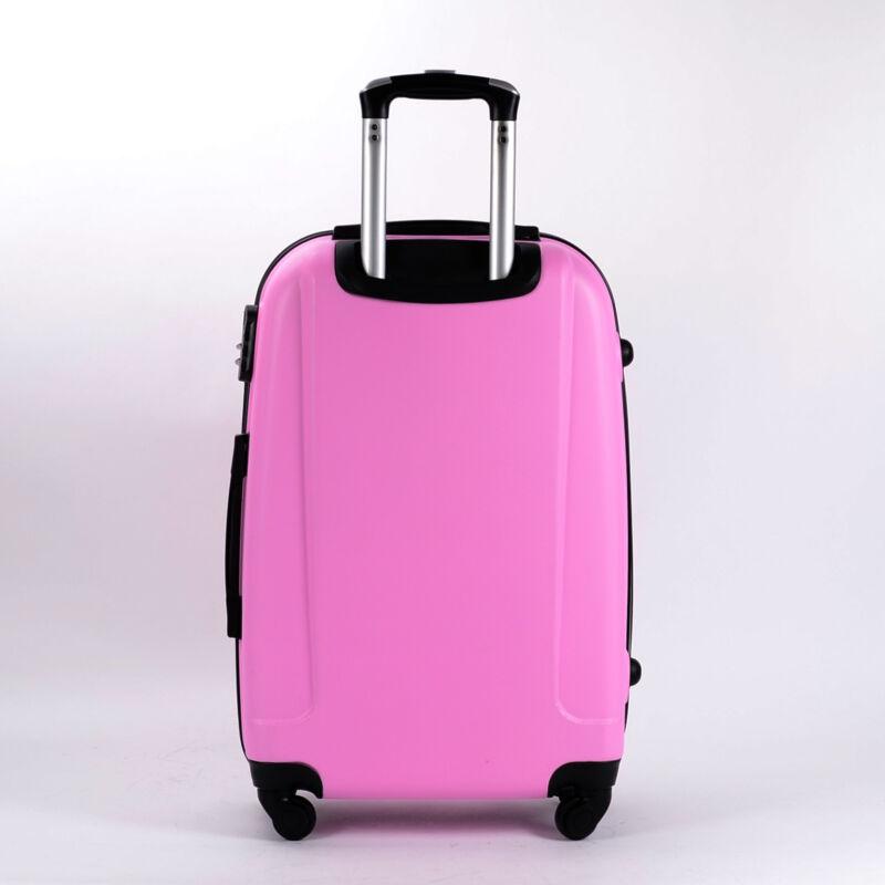 698912229549 Besty Rózsaszín Extra Könnyű Kemény Közepes Bőrönd (4 Kerekű ...