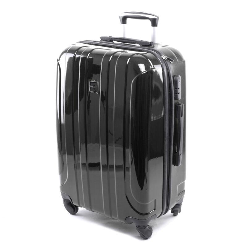 Ormi Kemény Fényes Bőrönd Fekete Kicsi - KABIN (kis) MÉRETŰ BŐRÖNDÖK ... 11590d31db