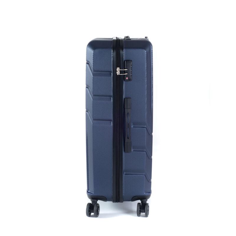 b4cce7d9f997 Bontour Spinner Kék Négy kerekű Kemény falú Nagy méretű bőrönd - 2 Év  Garancia
