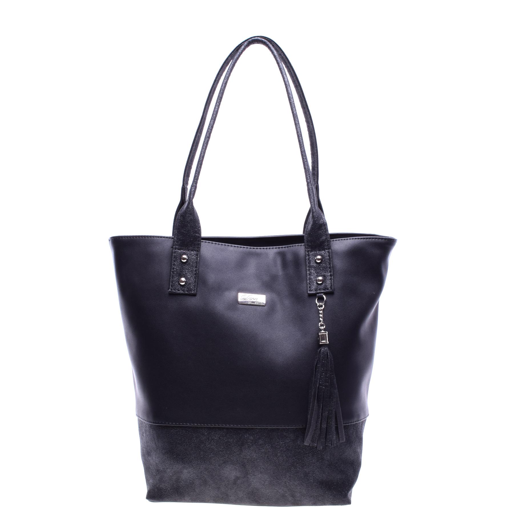 fdccaadef69c Diva Női Fekete Nagy Műbőr Válltáska - Válltáskák - Táska webáruház -  Minőségi táskák mindenkinek