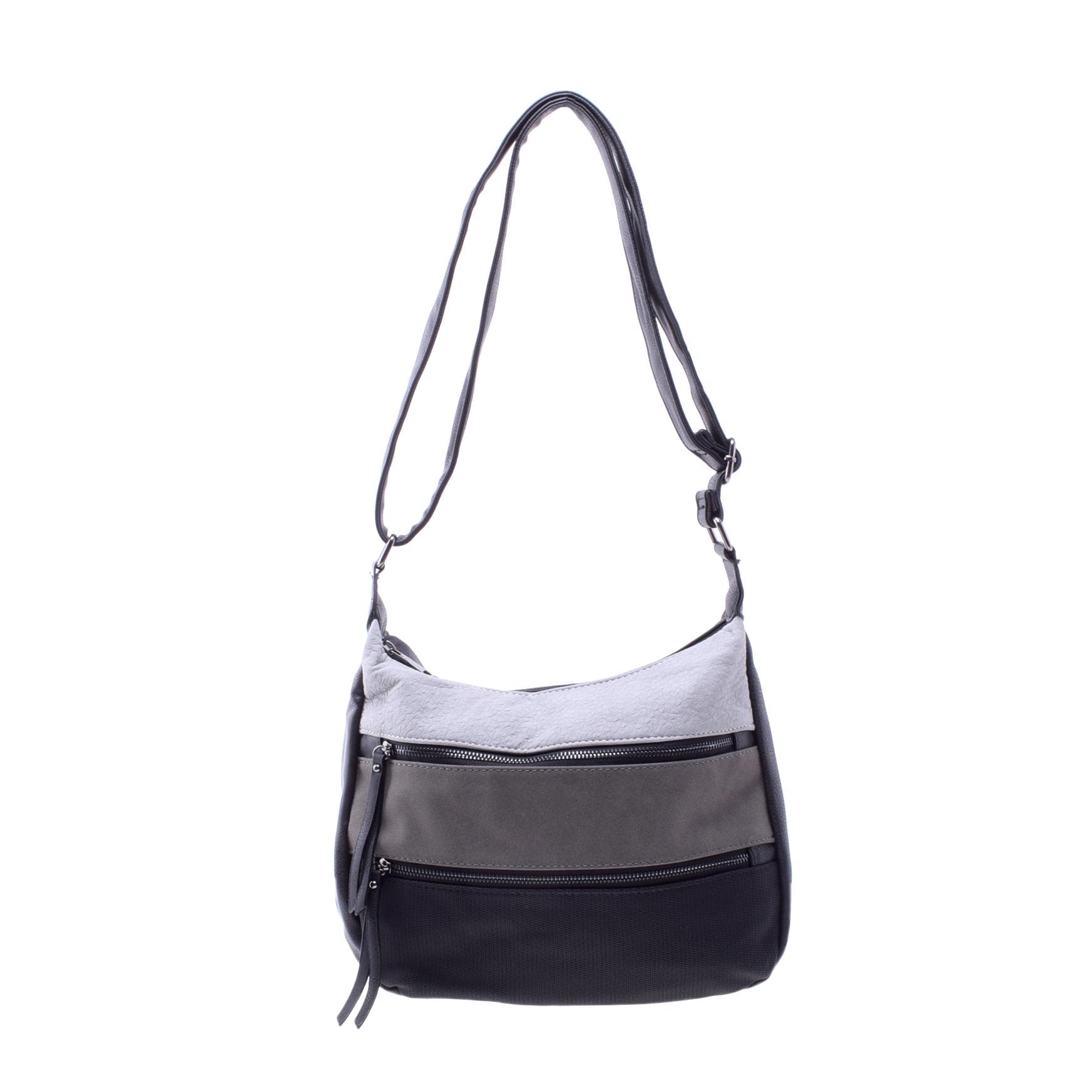 Női Fekete Műbőr Válltáska - Válltáskák - Táska webáruház - Minőségi táskák  mindenkinek cccd34158b