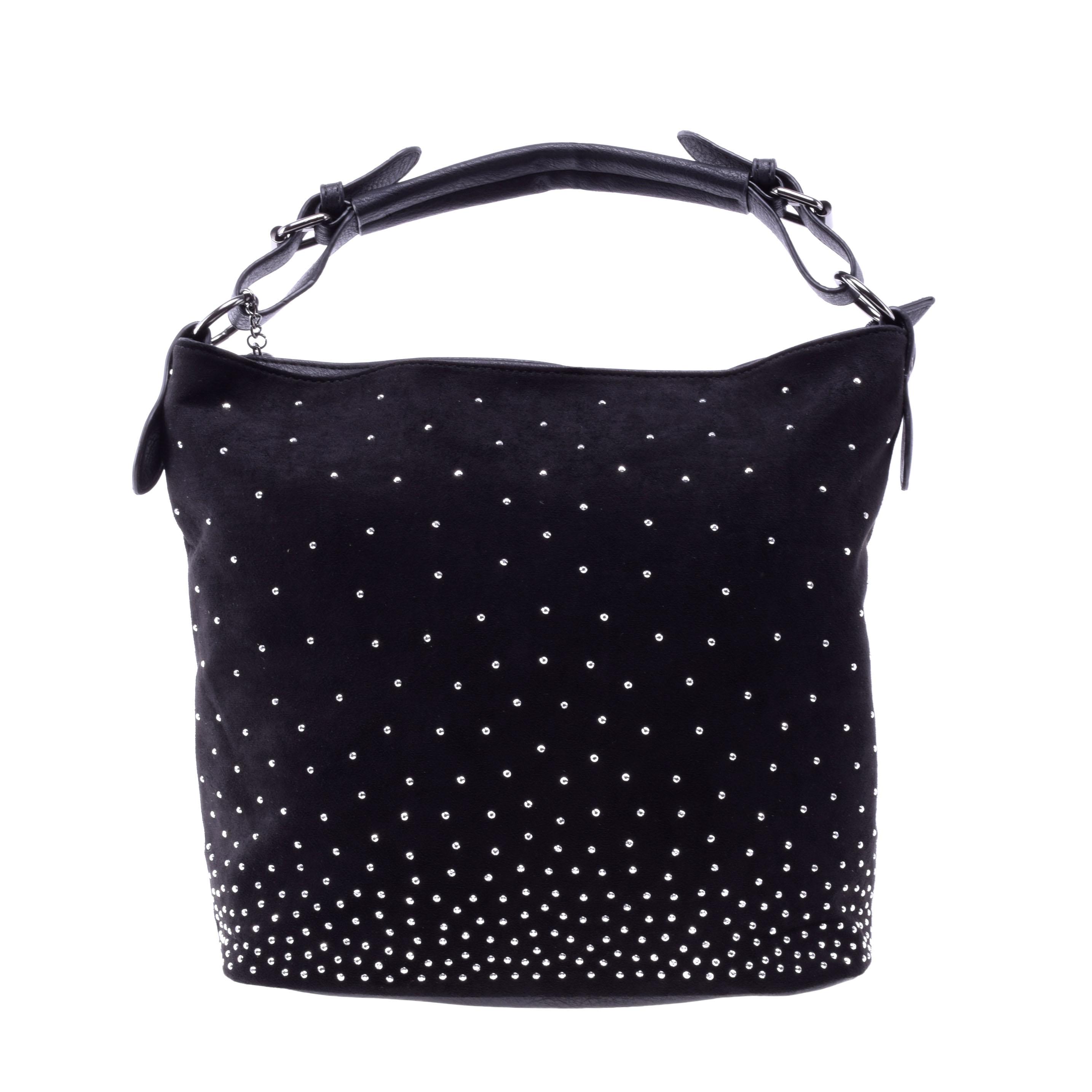 Női Fekete Művelúr Válltáska - Válltáskák - Táska webáruház - Minőségi  táskák mindenkinek f28449e904