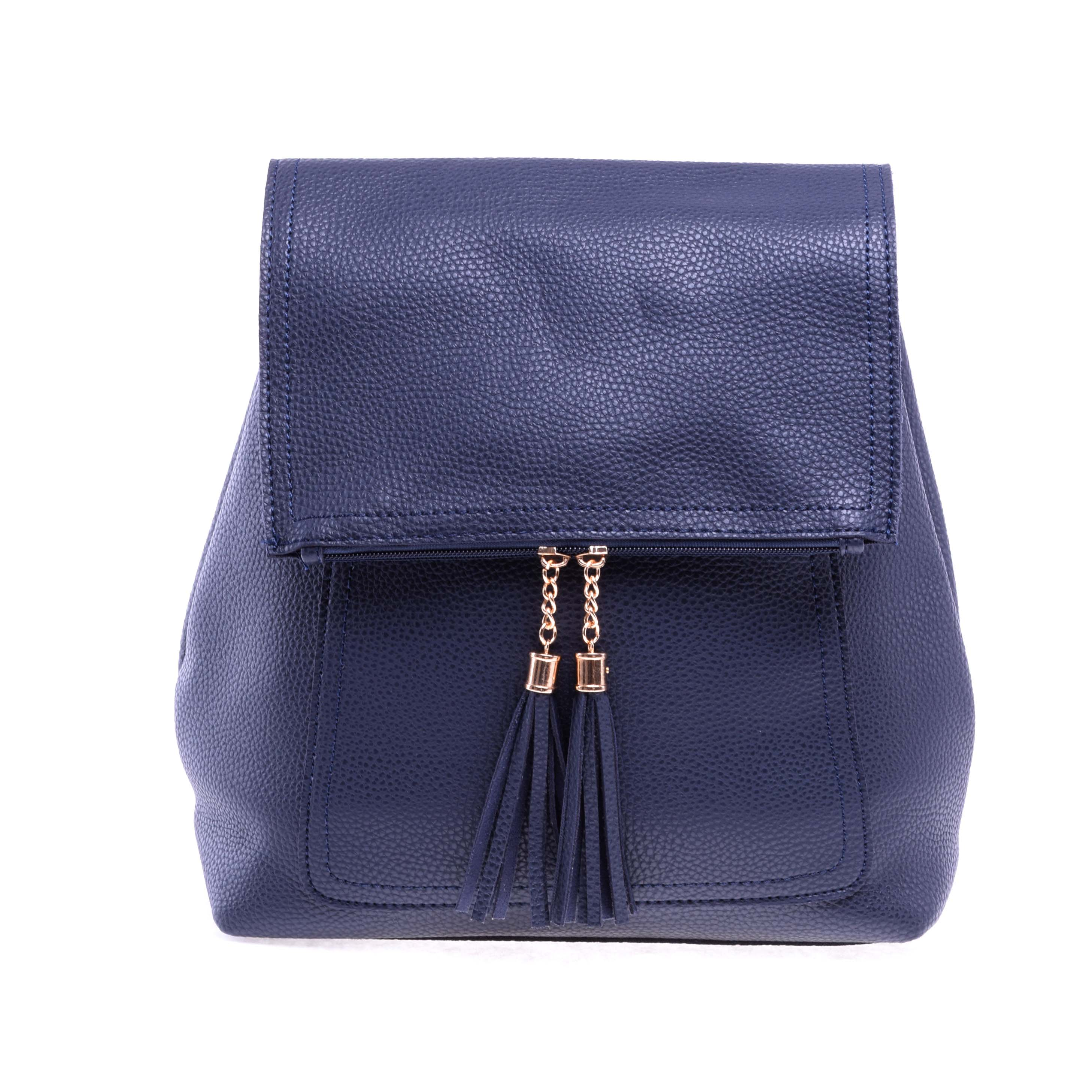 33bb2a7af016 Női Műbőr Hátizsák Kék - Műbőr - Táska webáruház - Minőségi táskák  mindenkinek