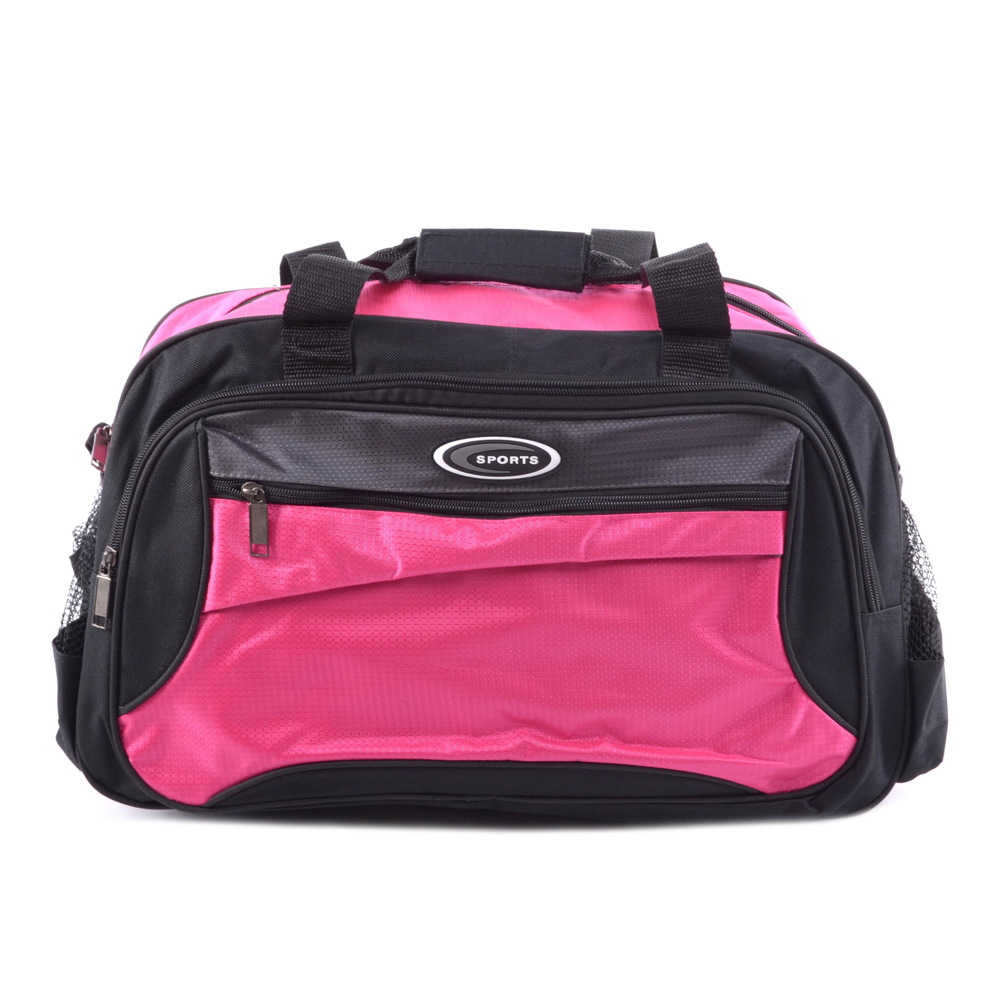 0f1e077f73d7 Besty Poliészter Sporttáska Rózsaszín - SPORTTÁSKÁK - Táska webáruház -  Minőségi táskák mindenkinek