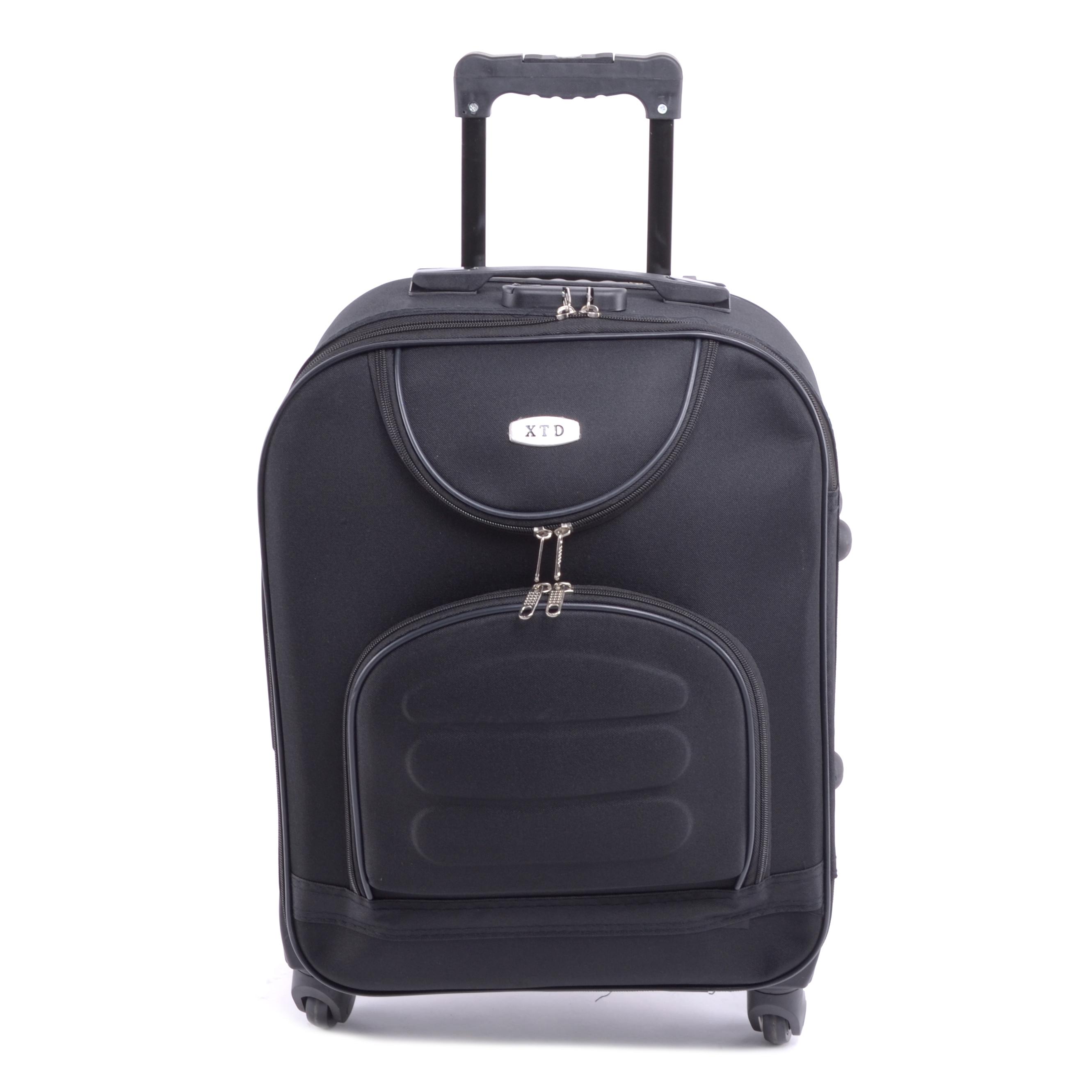 Xtd Kis Bőrőnd Fekete (4 Kerekű) - KABIN (kis) MÉRETŰ BŐRÖNDÖK - Táska  webáruház - Minőségi táskák mindenkinek d91a800dca