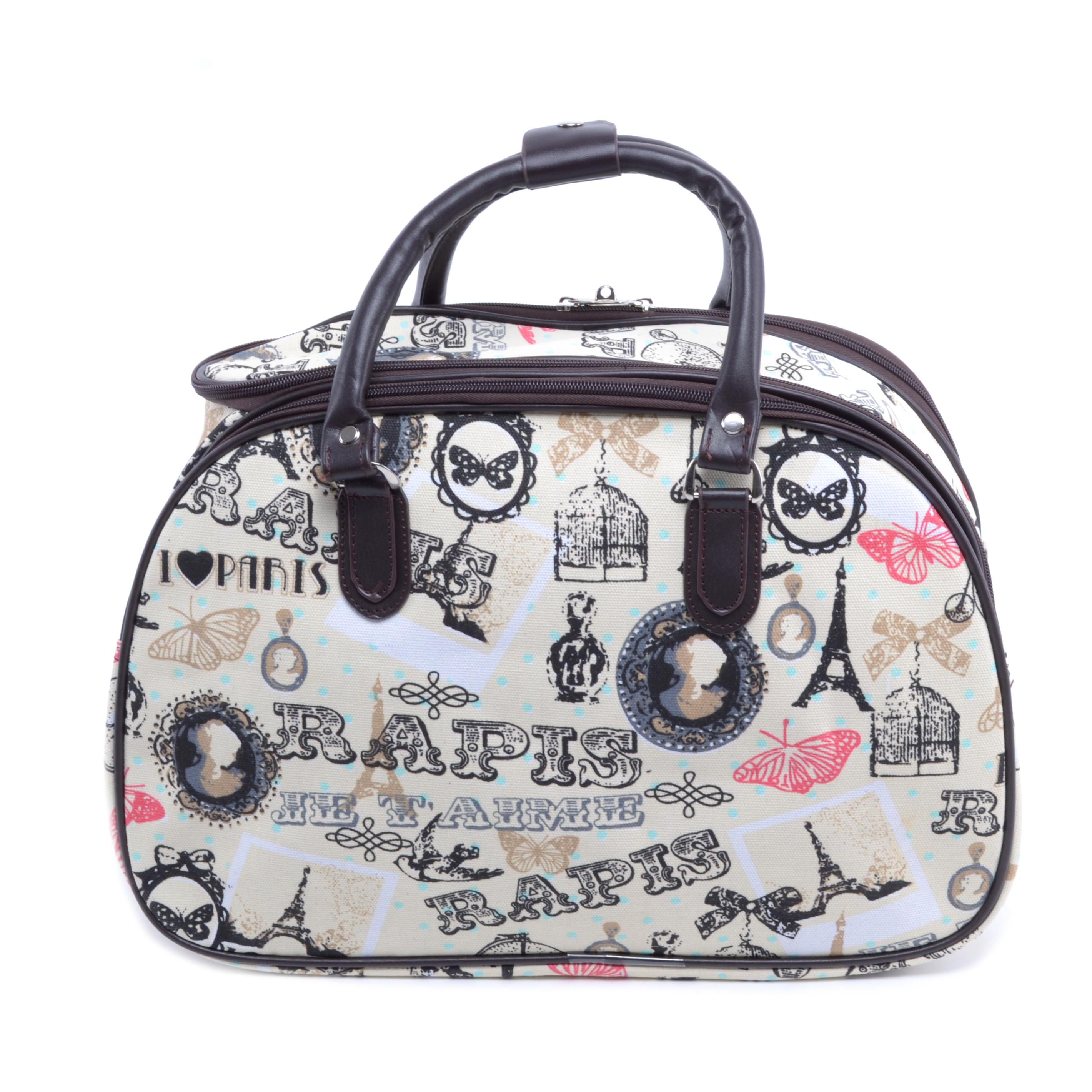 Besty Wizzair Paris Szövet Utazótáska - KIS MÉRETŰ UTAZÓTÁSKA - Táska  webáruház - Minőségi táskák mindenkinek 1007a2daa4