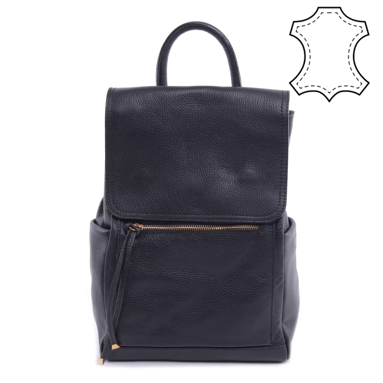 Fekete Női Valódi Bőr Hátizsák - VALÓDI BŐRTÁSKÁK - Táska webáruház -  Minőségi táskák mindenkinek 60e33dc26c