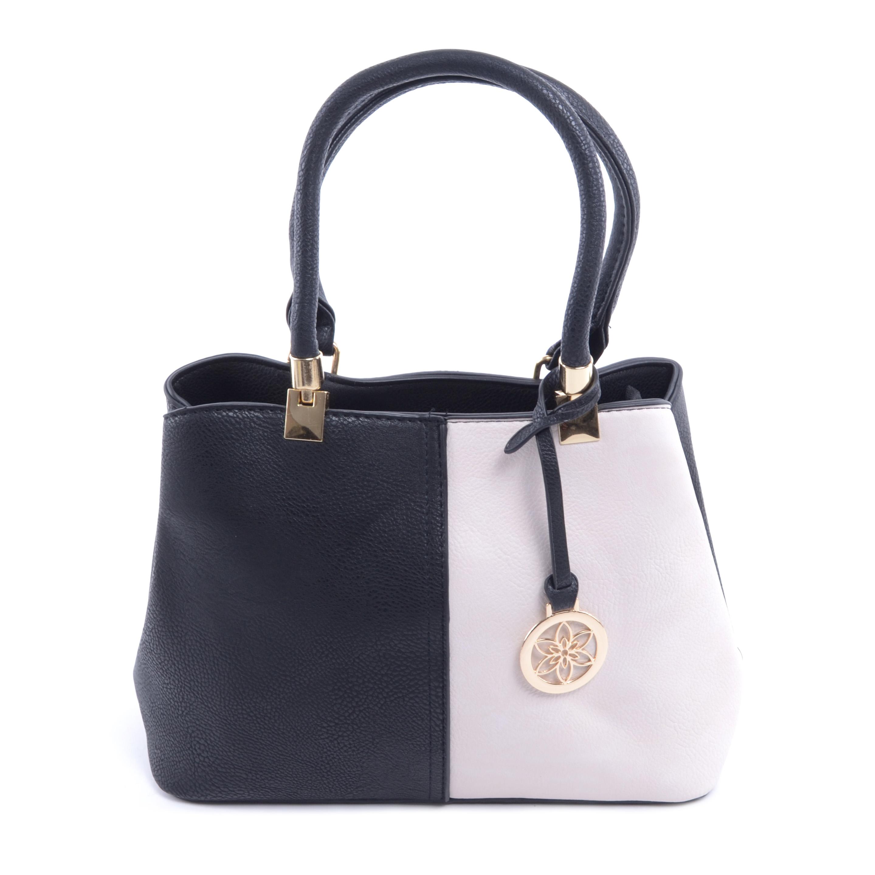Fekete-Bézs Női Műbőr Kézitáska - Kézitáskák - Táska webáruház - Minőségi  táskák mindenkinek 16e0e0f733