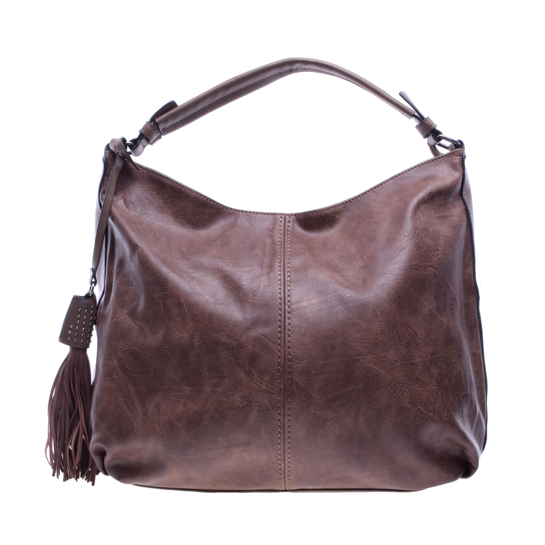 Női Világosbarna Műbőr Válltáska - Válltáskák - Táska webáruház - Minőségi  táskák mindenkinek ebc8351891