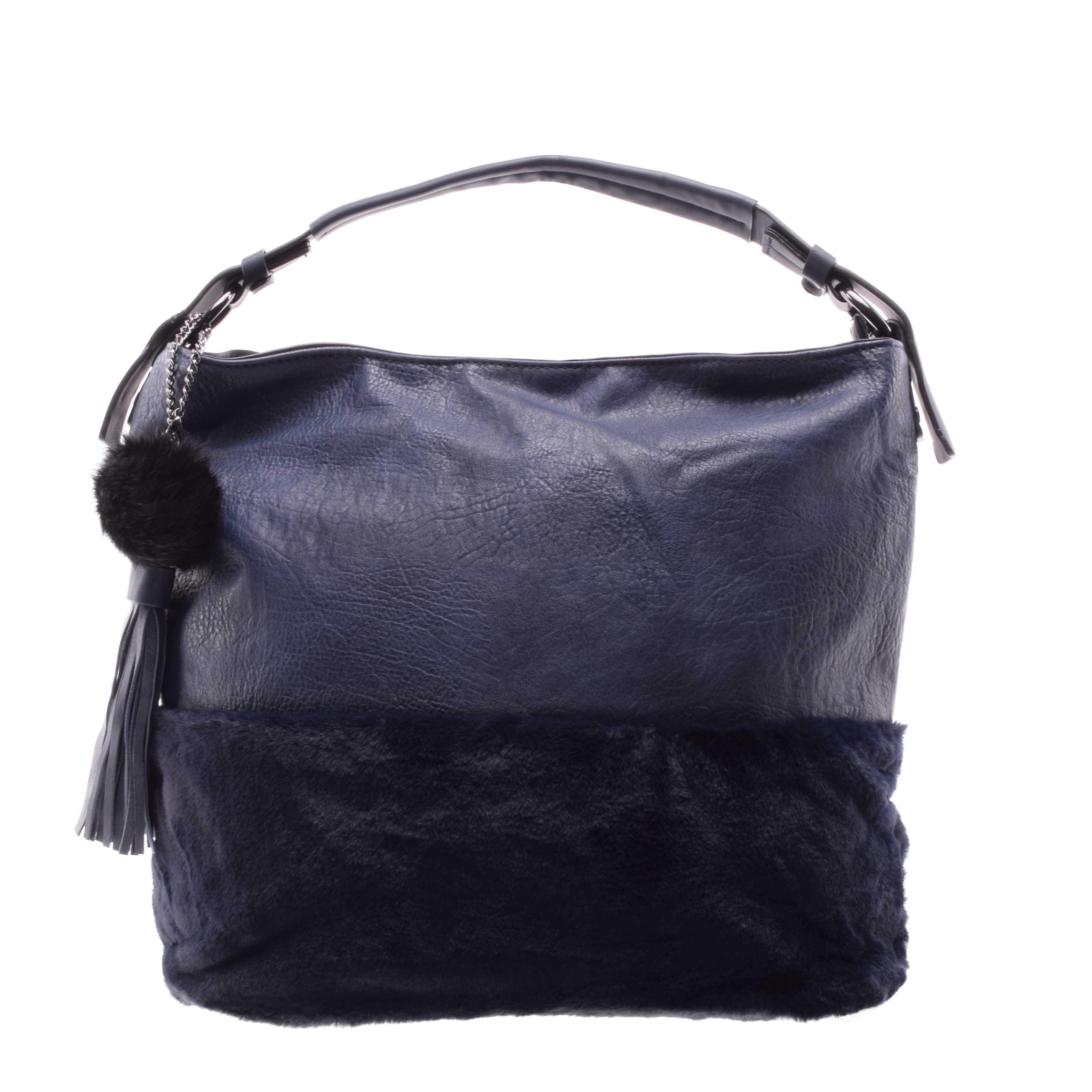 Női Kék Műbőr Válltáska - Válltáskák - Táska webáruház - Minőségi táskák  mindenkinek 3e4551adc8