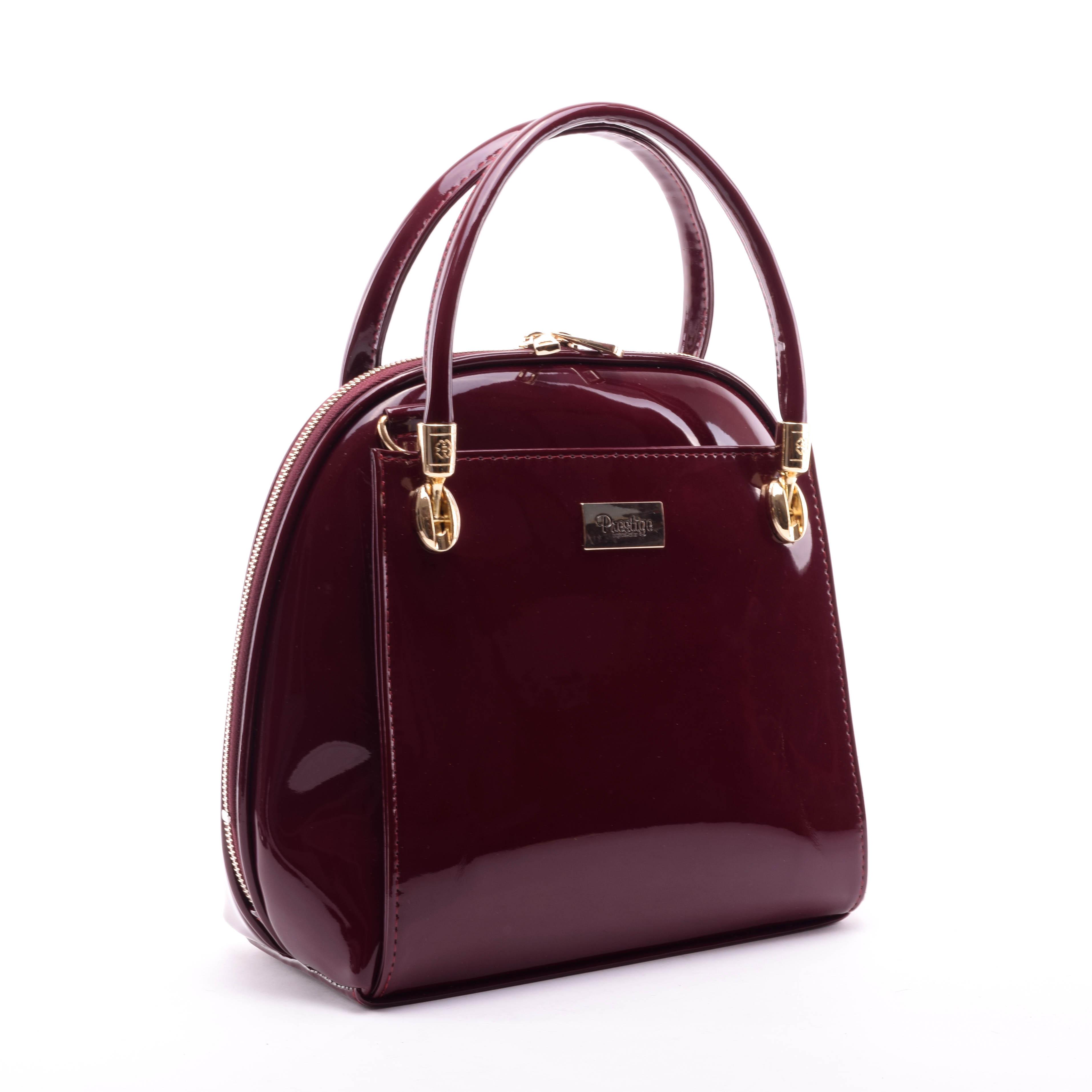 Prestige Női Lakk Kézitáska Bordó - Kézitáskák - Táska webáruház - Minőségi  táskák mindenkinek 7551d5c30e