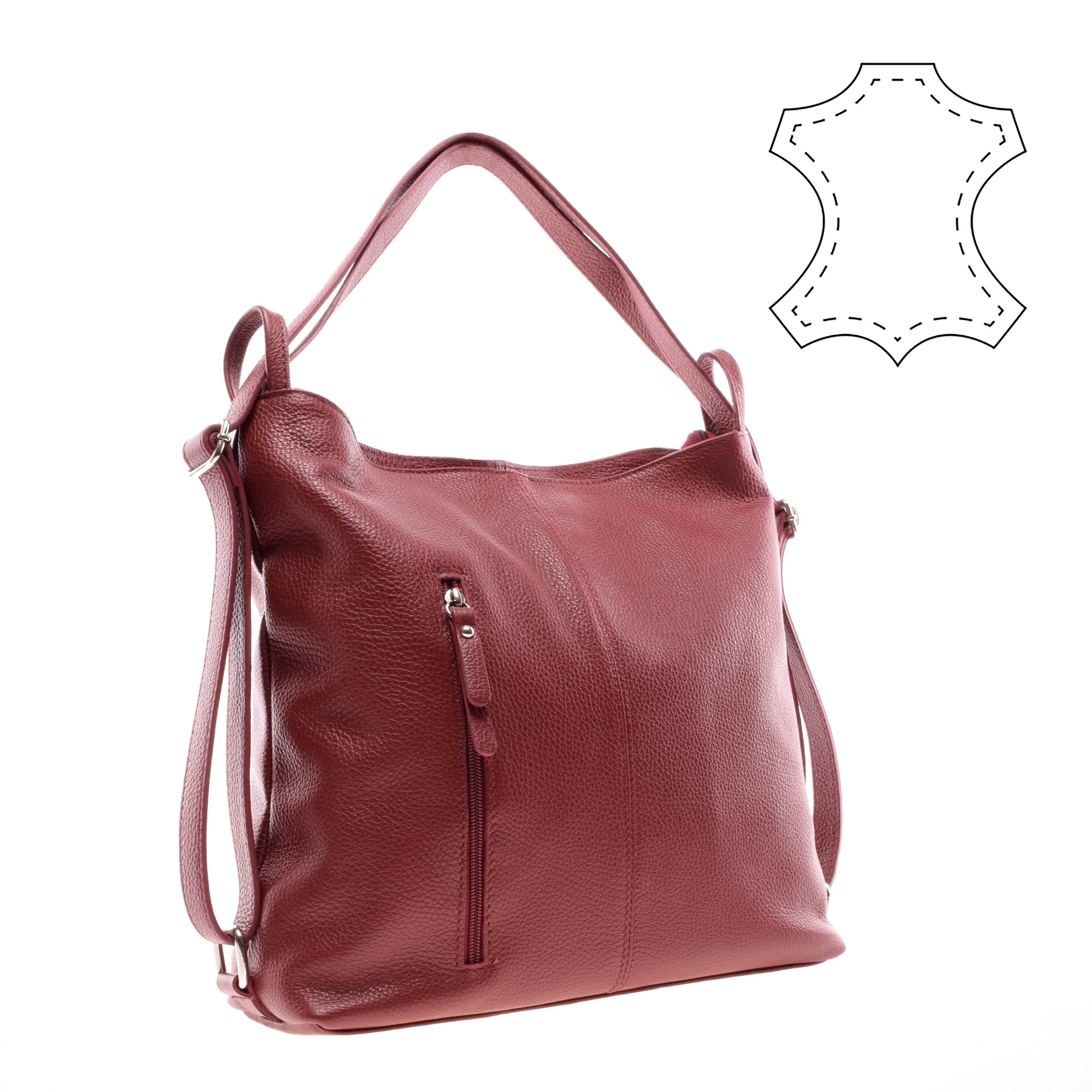 Női Bordó Bőr Átalakítható Válltáska - Válltáskák - Táska webáruház - Minőségi  táskák mindenkinek 0932ba1999