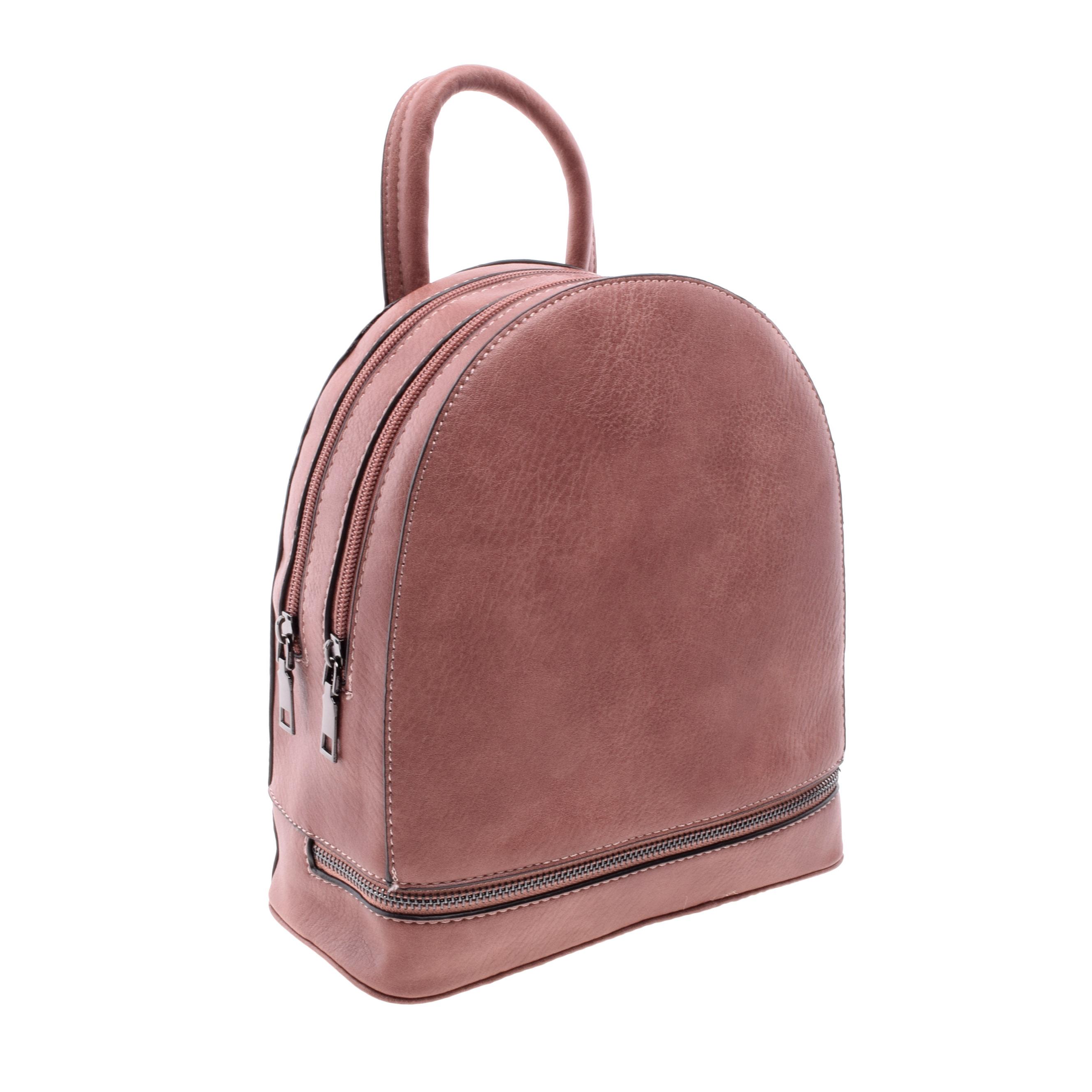 Női Közepes Rózsaszín Műbőr Hátizsák - NŐI TÁSKÁK - Táska webáruház - Minőségi  táskák mindenkinek 8d526cc80e