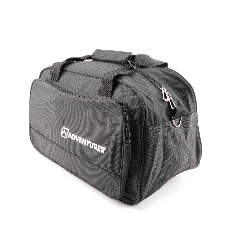 d85167155a81 Adventurer Fekete Mini Sporttáska - KIS MÉRETŰ UTAZÓTÁSKA - Táska webáruház  - Minőségi táskák mindenkinek