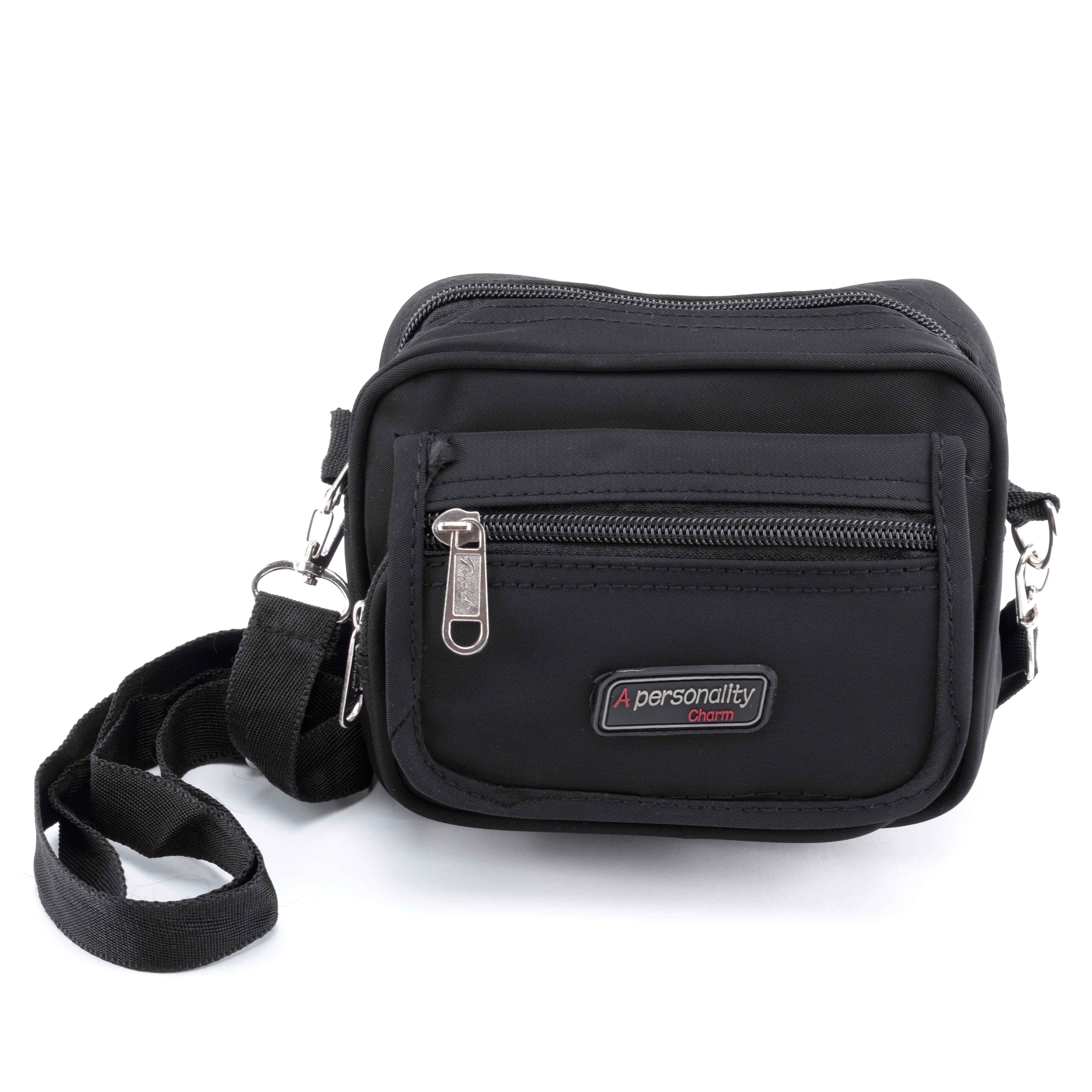 Fekete férfi poliészter oldaltáska - OLDALTÁSKÁK - Táska webáruház -  Minőségi táskák mindenkinek ebe5825d5c