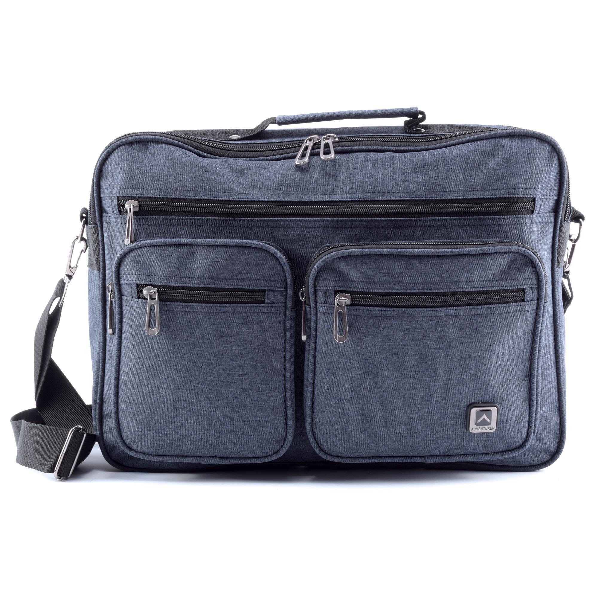 a943ec531c8e ADVENTURER kék laptoptáska - LAPTOP TÁSKÁK - Táska webáruház - Minőségi  táskák mindenkinek