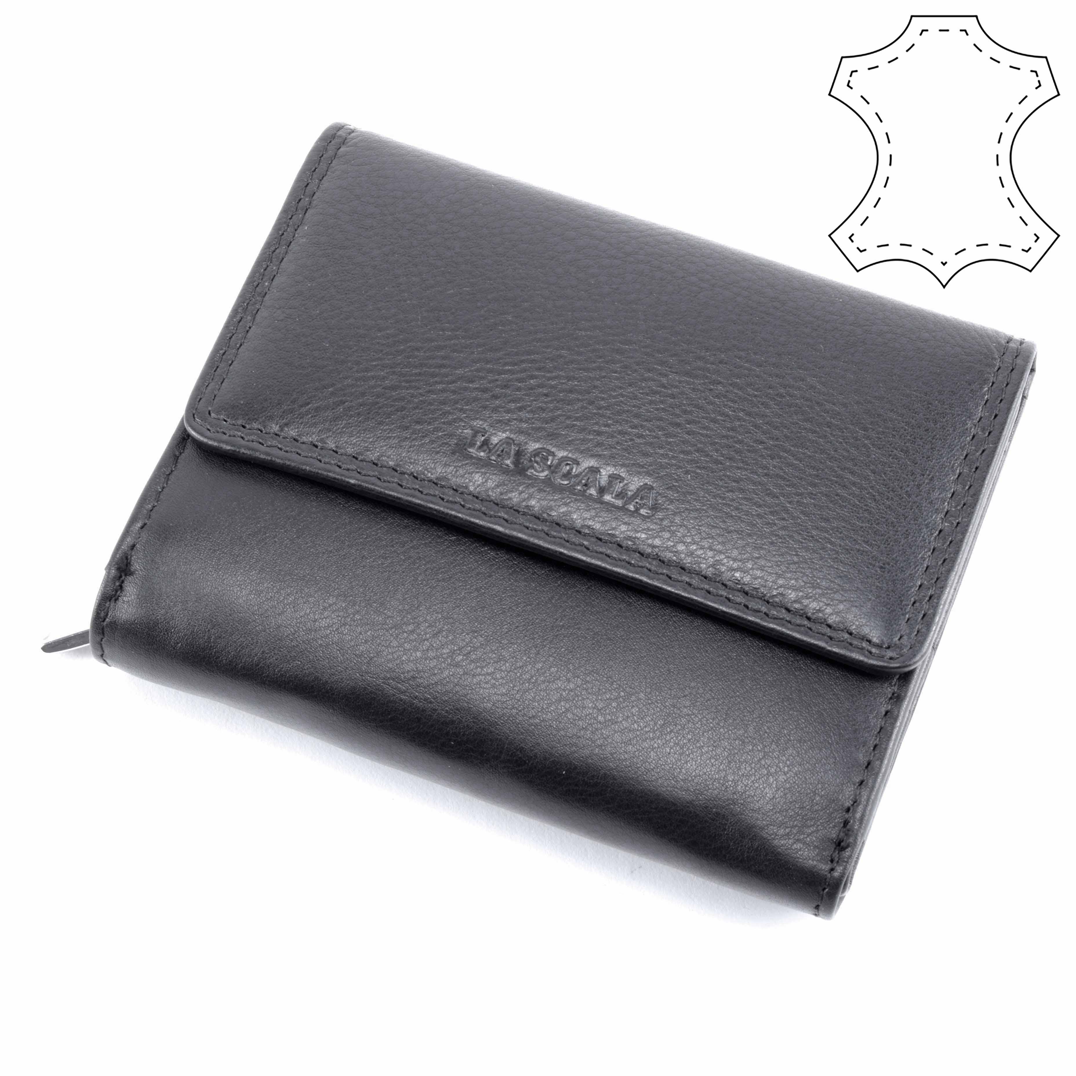 LA SCALA Férfi Fekete Bőr Pénztárca - FÉRFI PÉNZTÁRCA - Táska webáruház - Minőségi  táskák mindenkinek 5d2fa920ad