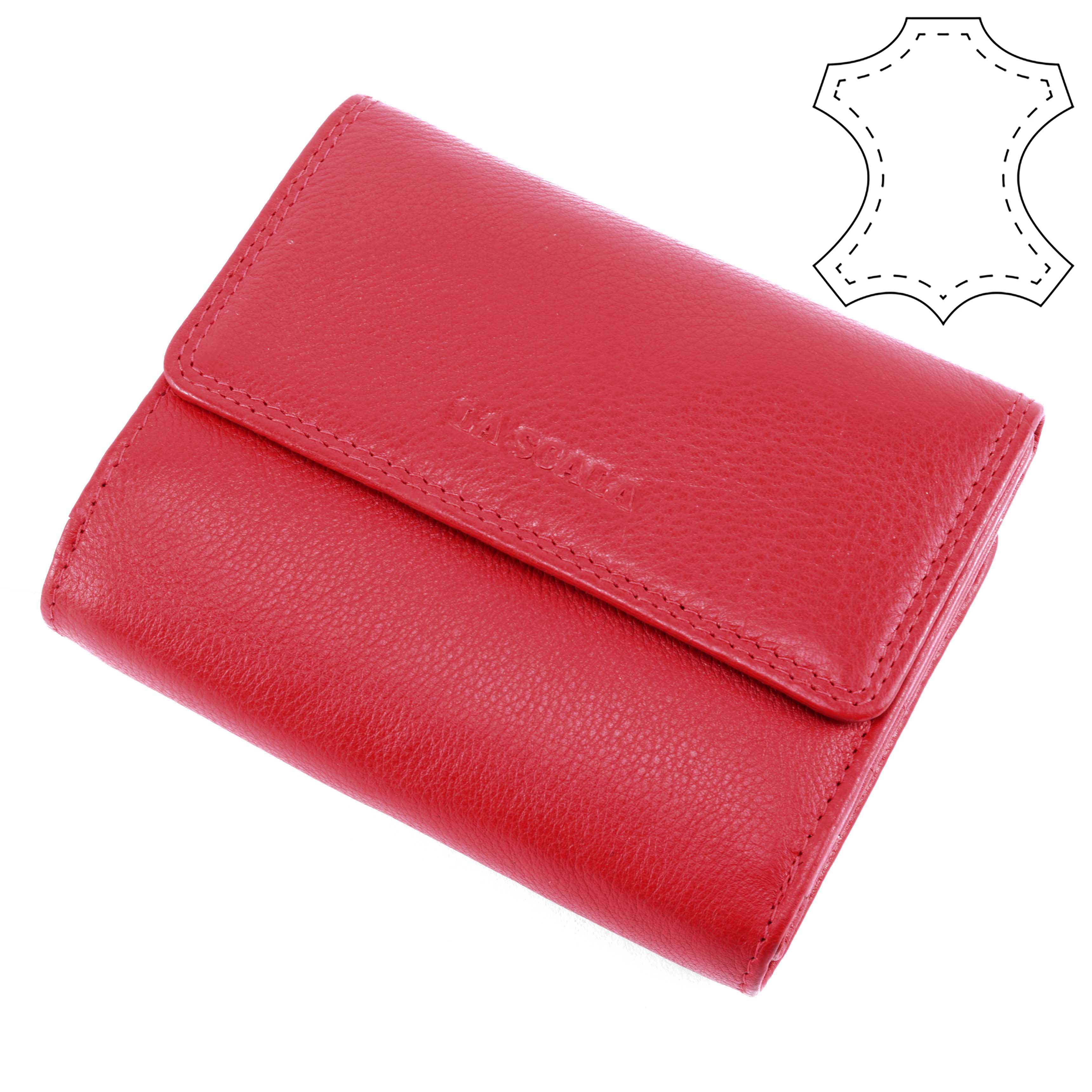 a2a9a801dd LA SCALA Piros Női Bőr Pénztárca - NŐI PÉNZTÁRCÁK - Táska webáruház - Minőségi  táskák mindenkinek