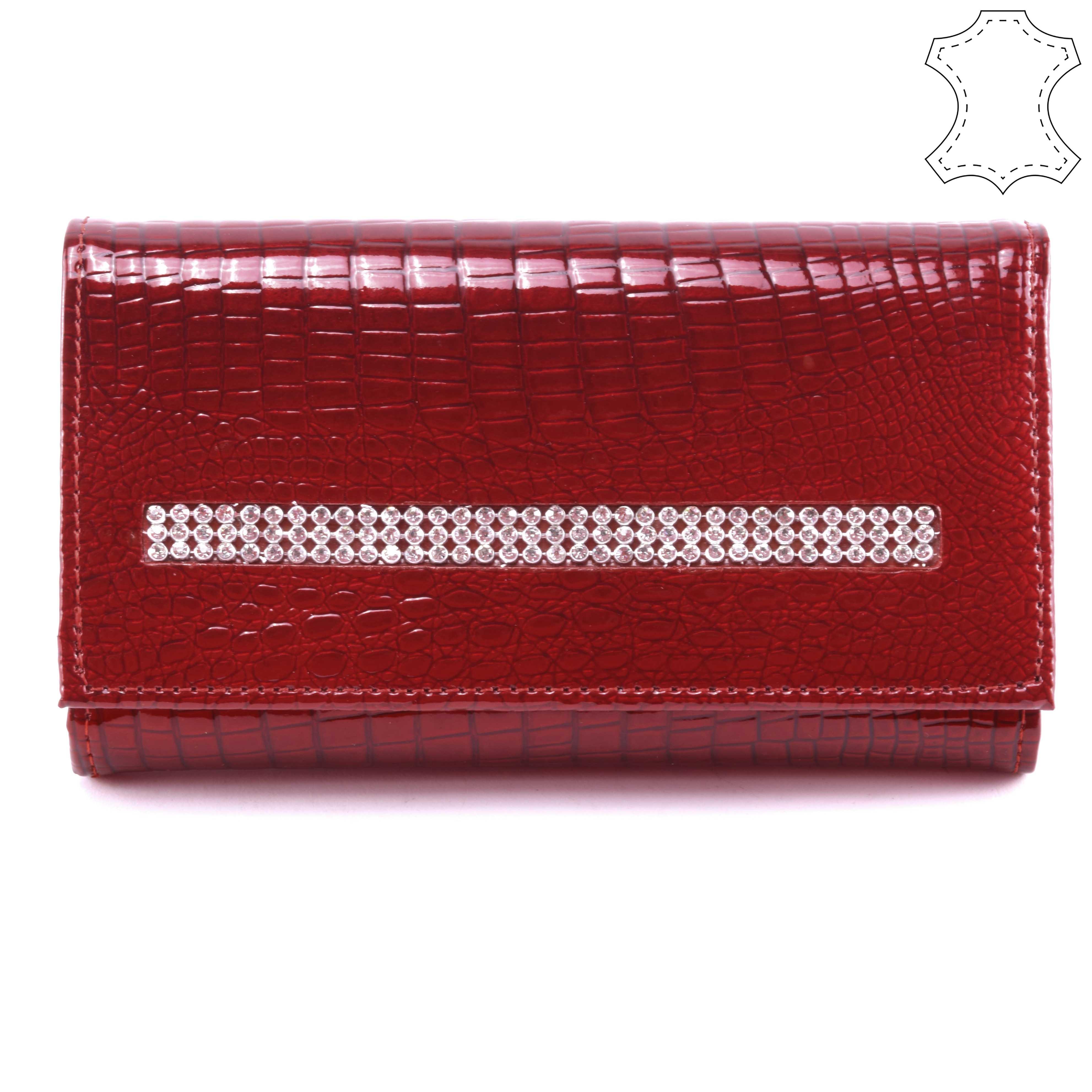 c23563c7dd Loren Női Lakkbőr Pénztárca Piros - NŐI PÉNZTÁRCÁK - Táska webáruház - Minőségi  táskák mindenkinek