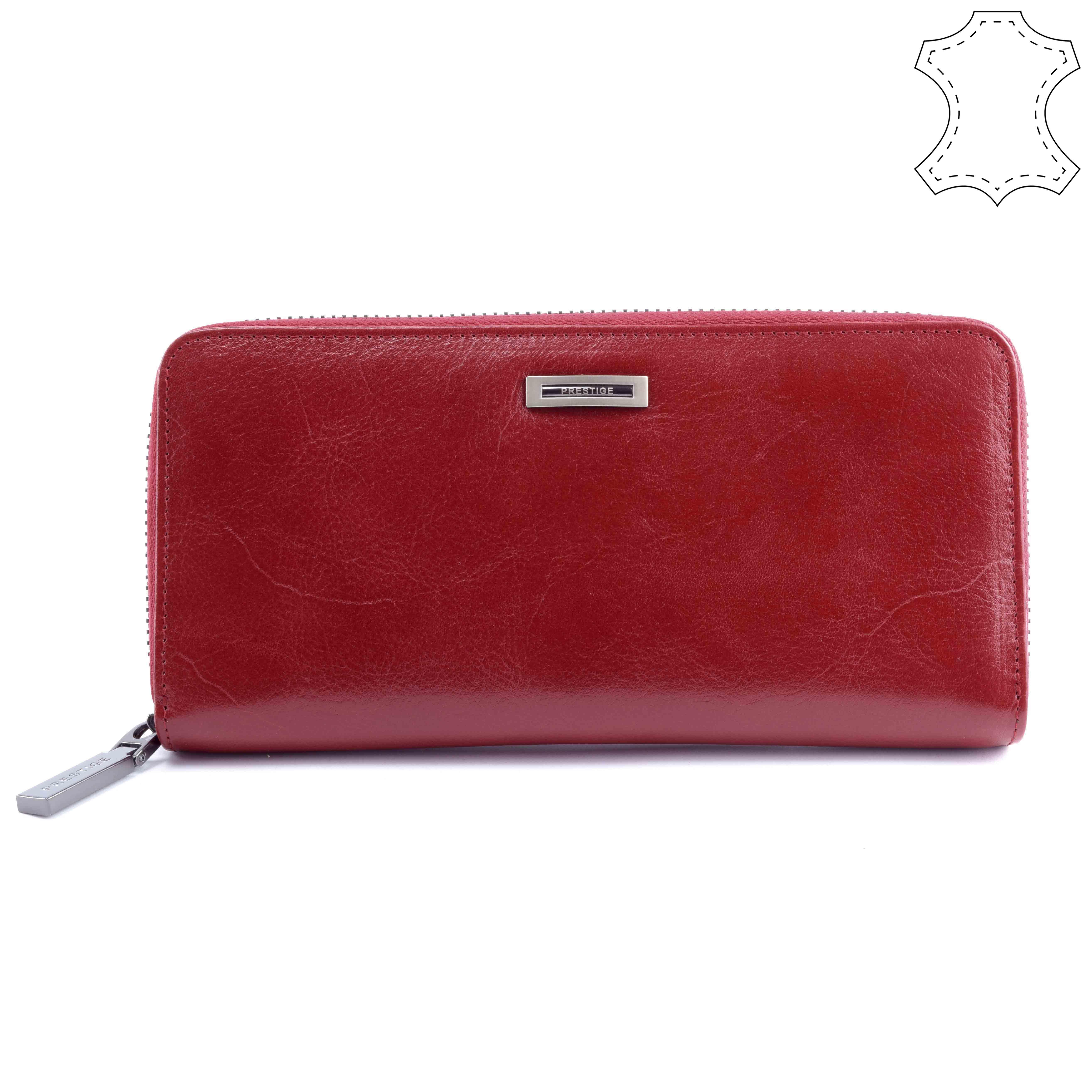 Prestige női piros bőr pénztárca - Prestige - Táska webáruház - Minőségi  táskák mindenkinek 301b8d94da