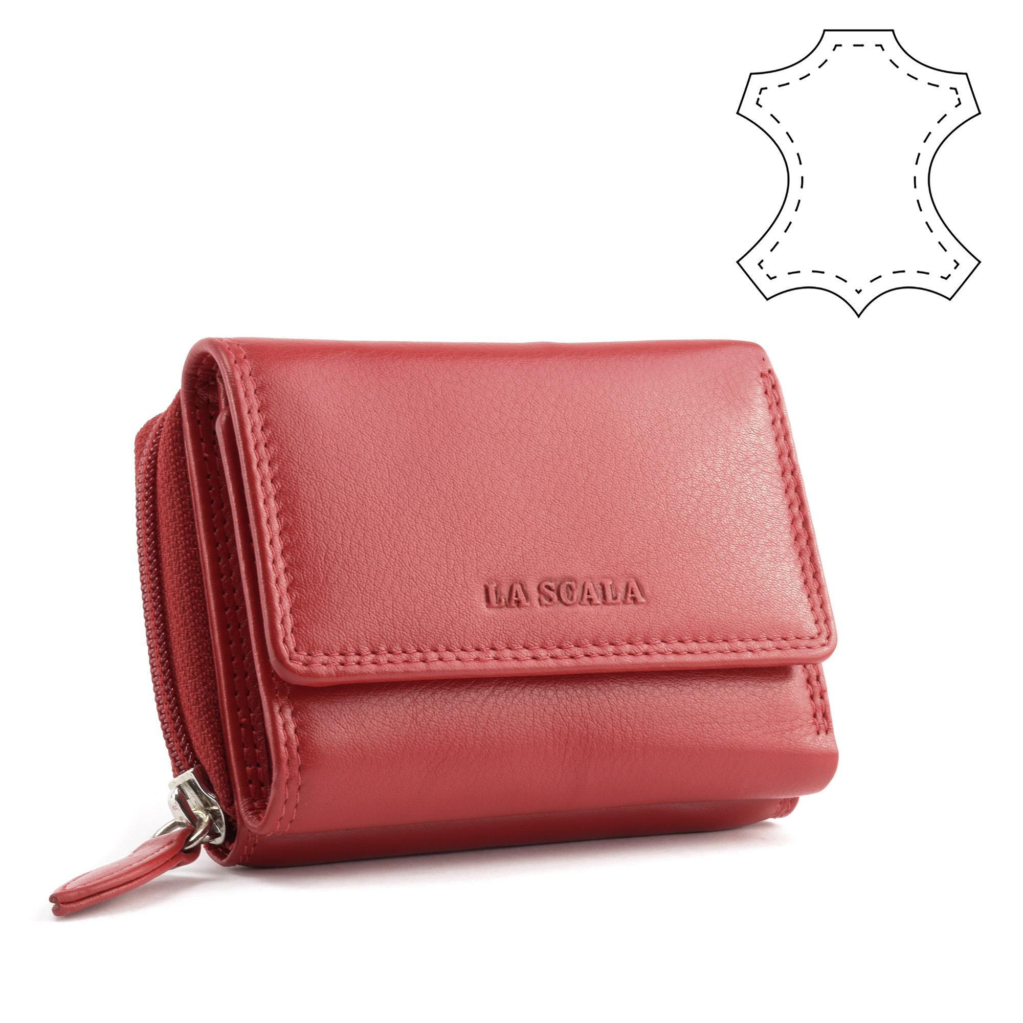 904a6d3500 La Scala női bordó bőr pénztárca - NŐI PÉNZTÁRCÁK - Táska webáruház - Minőségi  táskák mindenkinek