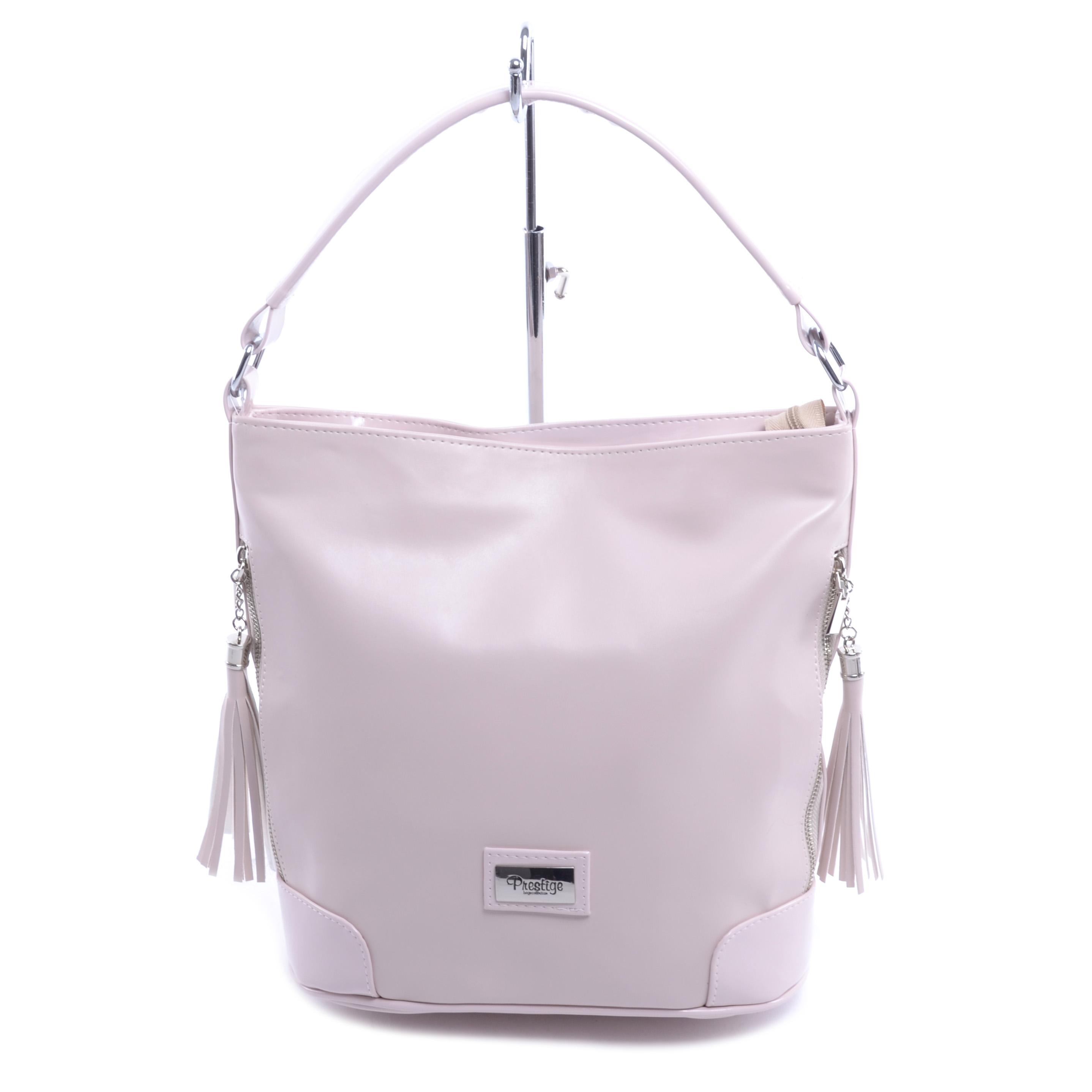 079b157703 Prestige Nagy Méretű Női Válltáska - Babarózsaszín - Válltáskák - Táska  webáruház - Minőségi táskák mindenkinek