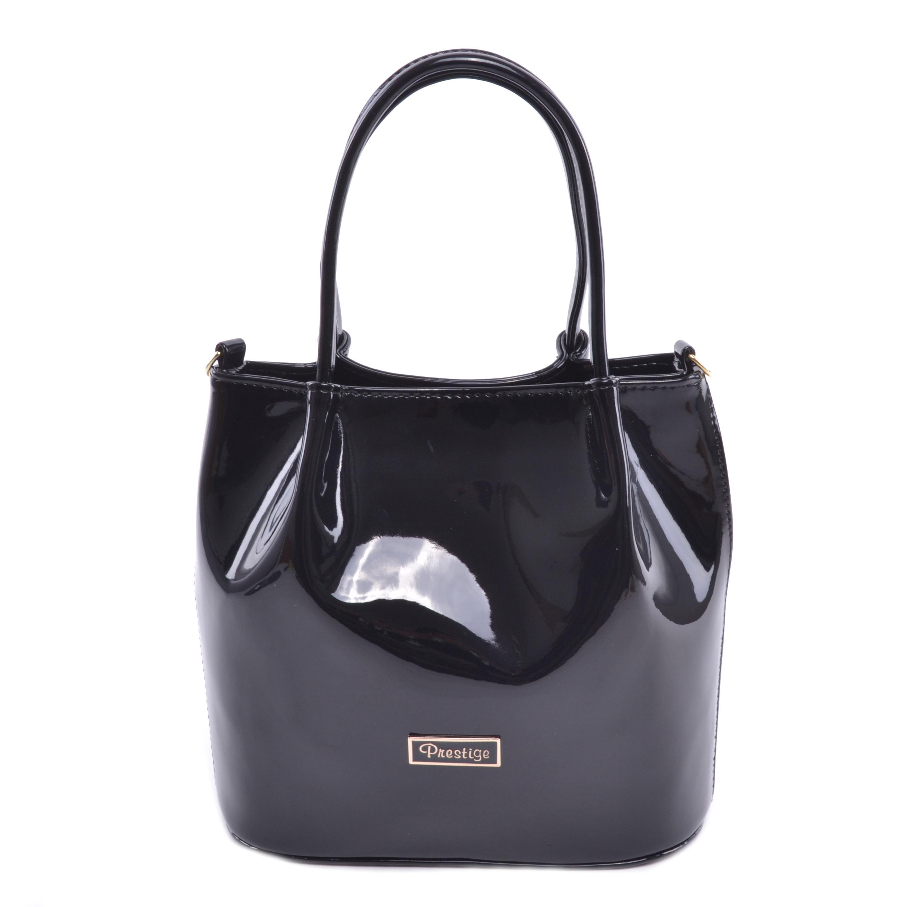 195447799d28 Prestige Fekete Lakk Női Kézitáska - Kézitáskák - Táska webáruház - Minőségi  táskák mindenkinek