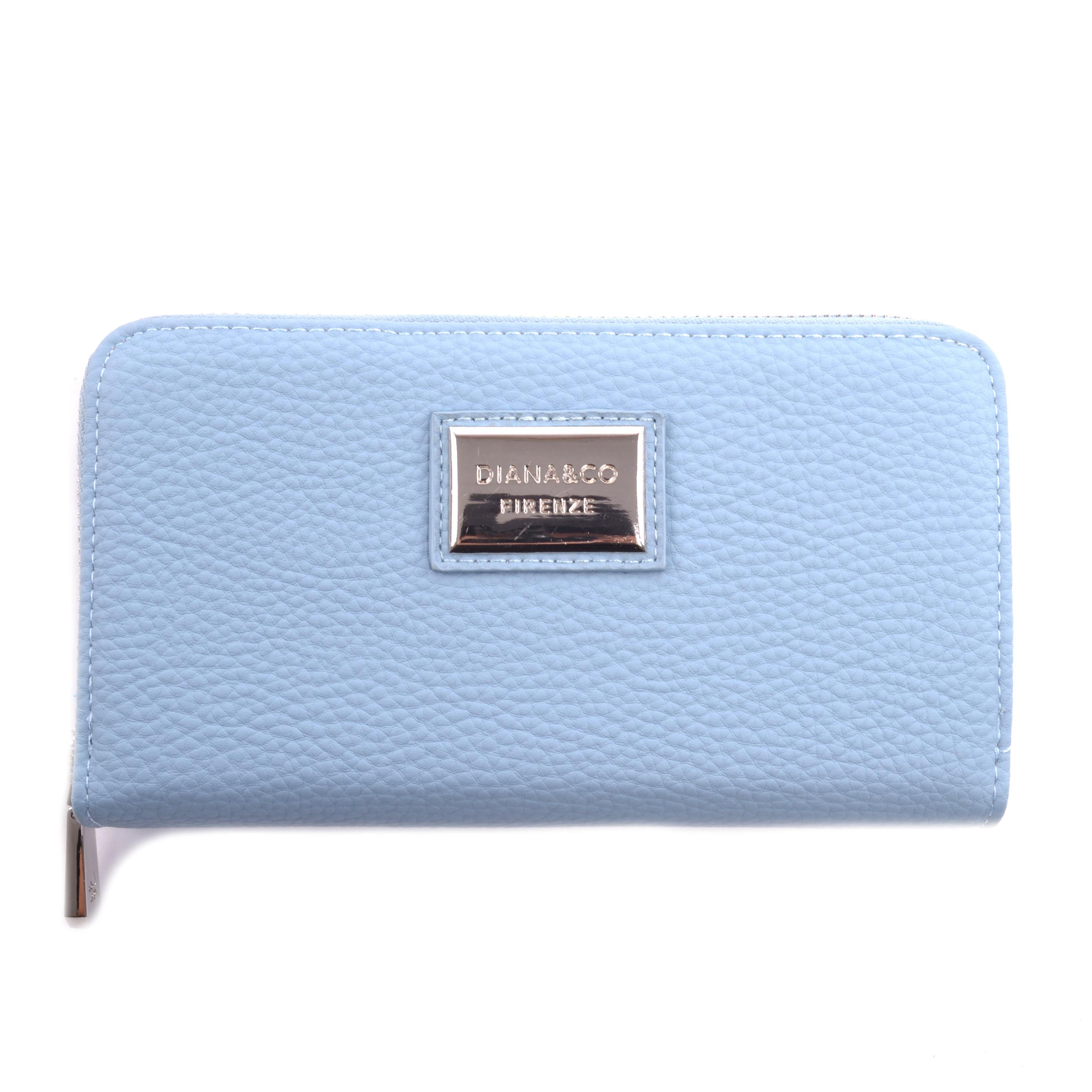 7a1c98ed24 Diana & Co Nő Műbőr Pénztárca Világoskék - NŐI PÉNZTÁRCÁK - Táska webáruház  - Minőségi táskák mindenkinek