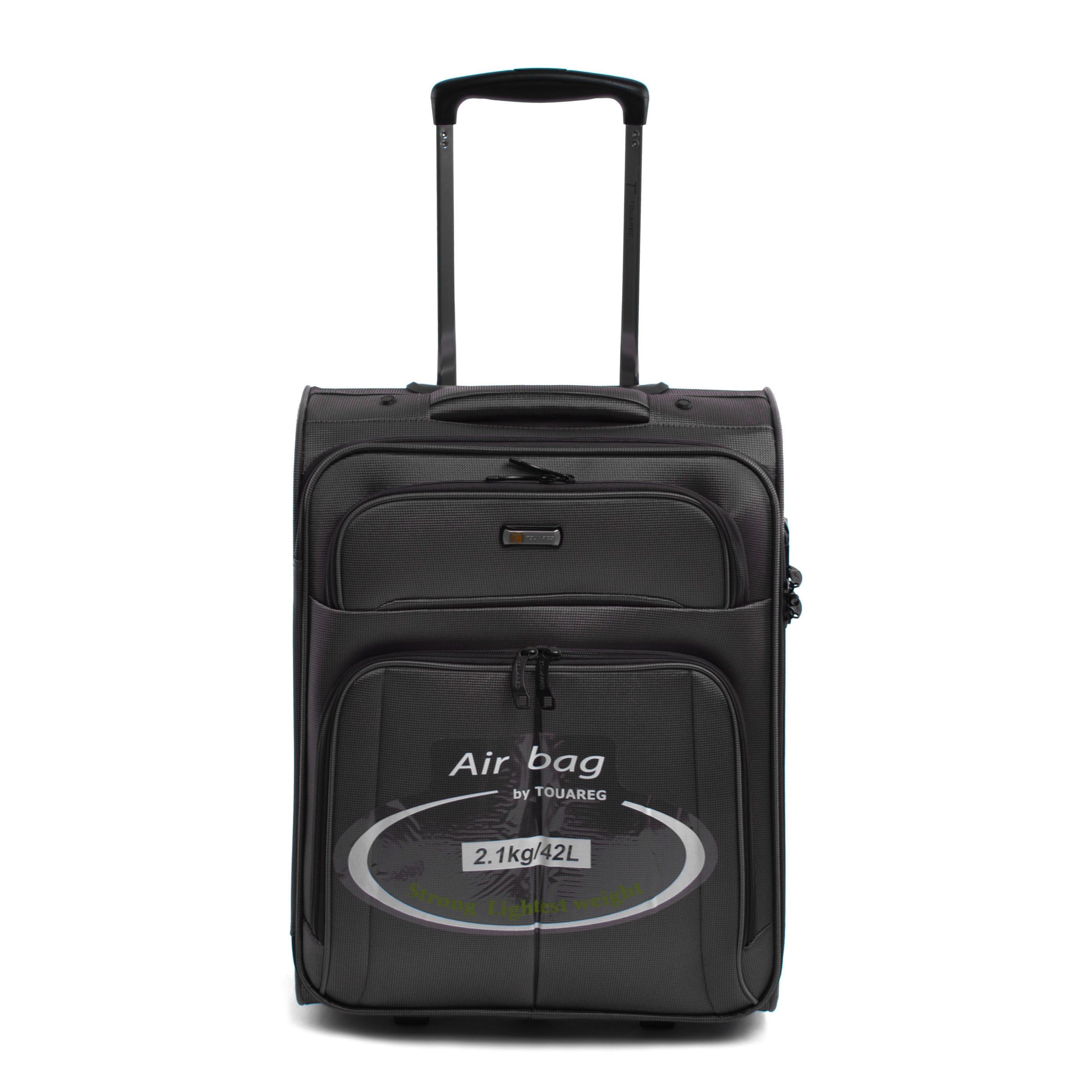 a1df22e79244 Touareg Fekete Kabinbőrönd - KABIN (kis) MÉRETŰ BŐRÖNDÖK - Táska webáruház  - Minőségi táskák mindenkinek
