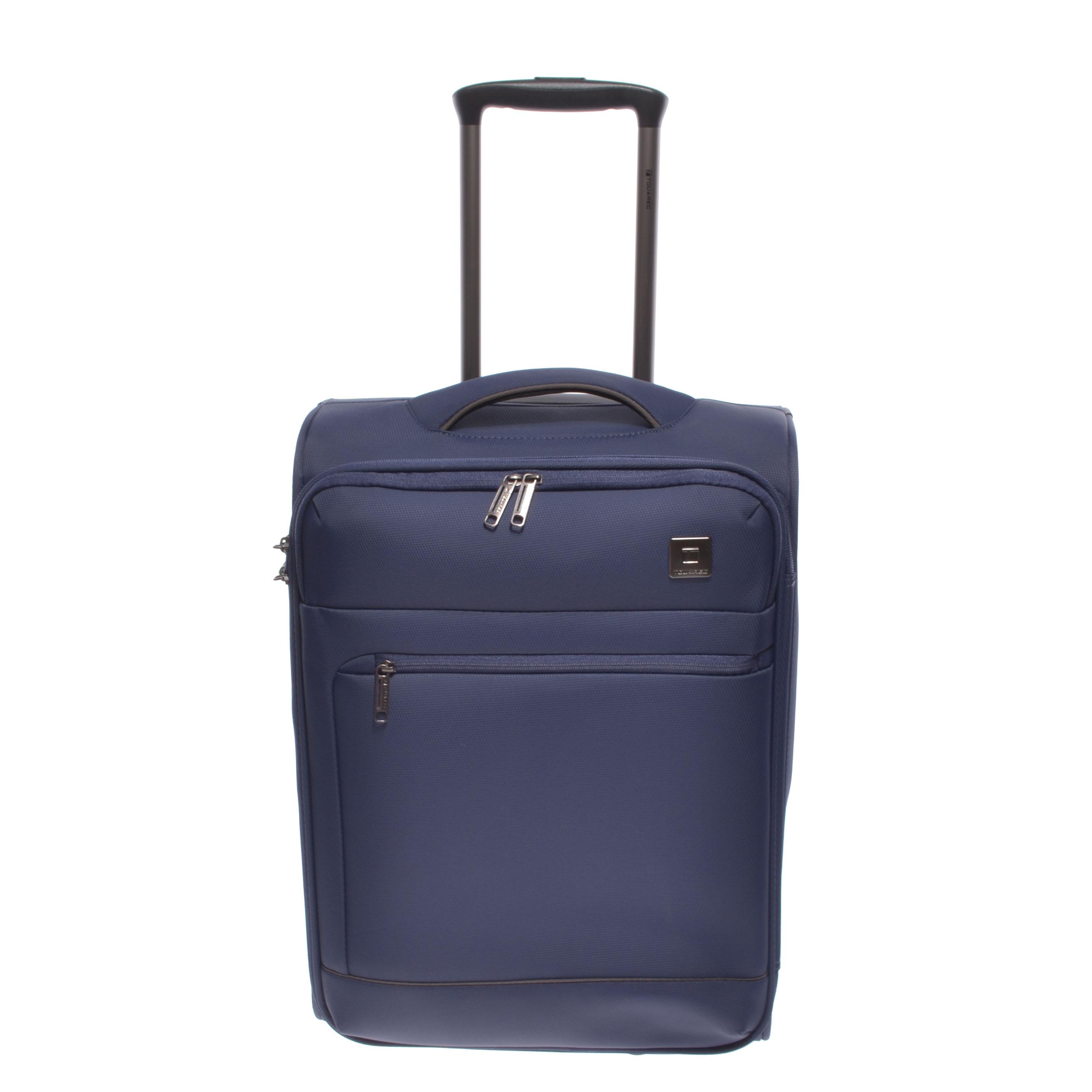 1ebce1b8ca98 Touareg Prémium Kabinbőrönd Kék - KABIN (kis) MÉRETŰ BŐRÖNDÖK - Táska  webáruház - Minőségi táskák mindenkinek