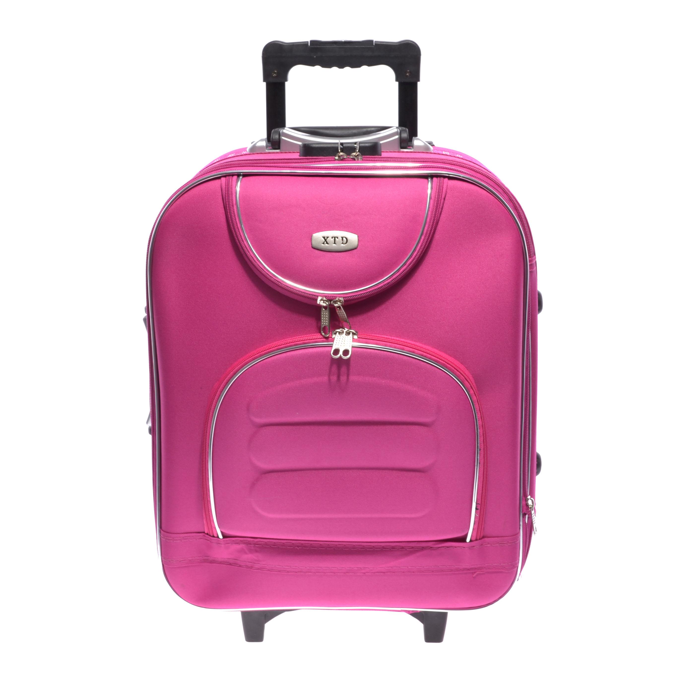 9f50dc11db34 Rózsaszín Kabin Méretű Bőrönd 55*40*20cm Bd701 - KABIN (kis) MÉRETŰ BŐRÖNDÖK  - Táska webáruház - Minőségi táskák mindenkinek