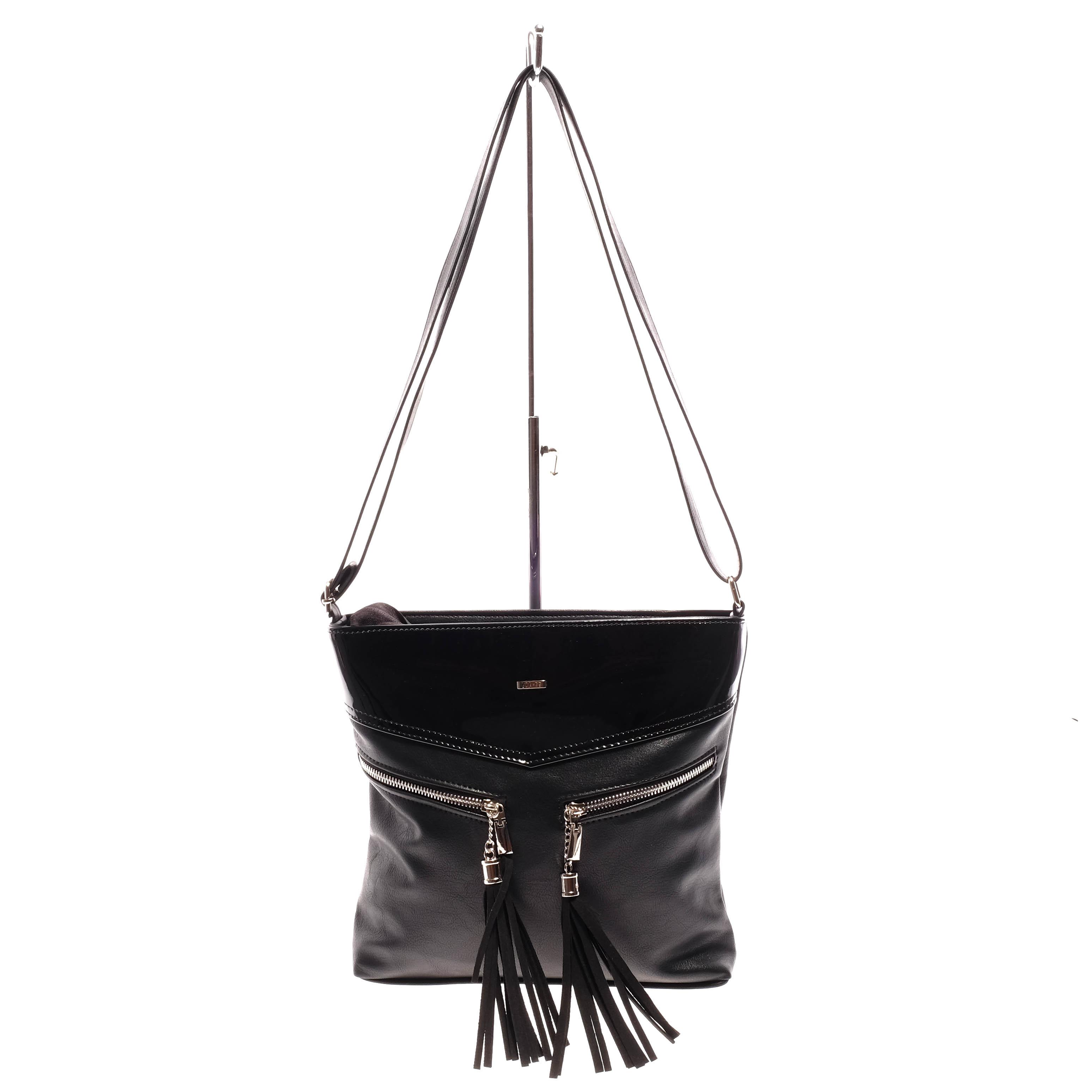 Via 55 Fekete Női Oldaltáska - Átvetős Oldaltáskák - Táska webáruház -  Minőségi táskák mindenkinek 8802f92aca